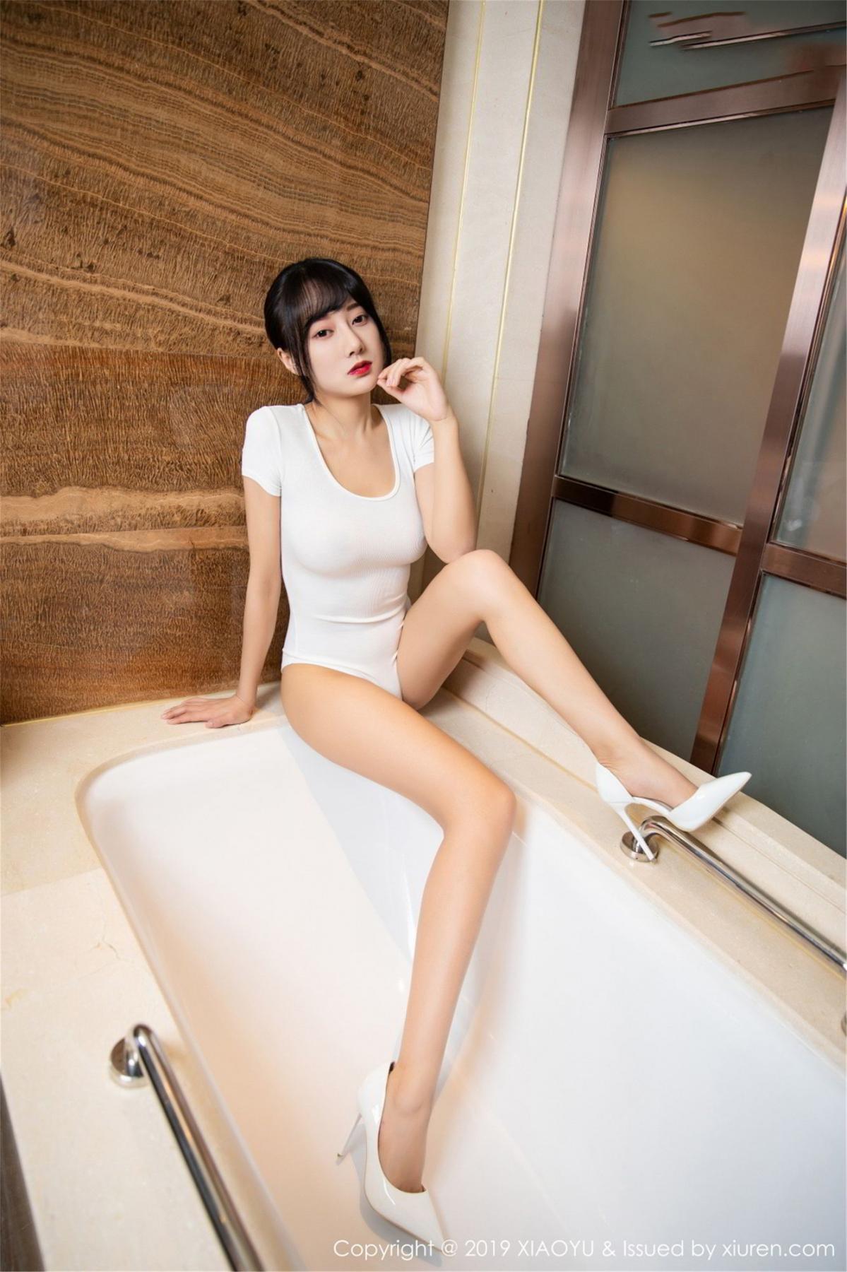 [XiaoYu] Vol.116 He Jia Ying 11P, Bathroom, He Jia Ying, Wet, XiaoYu