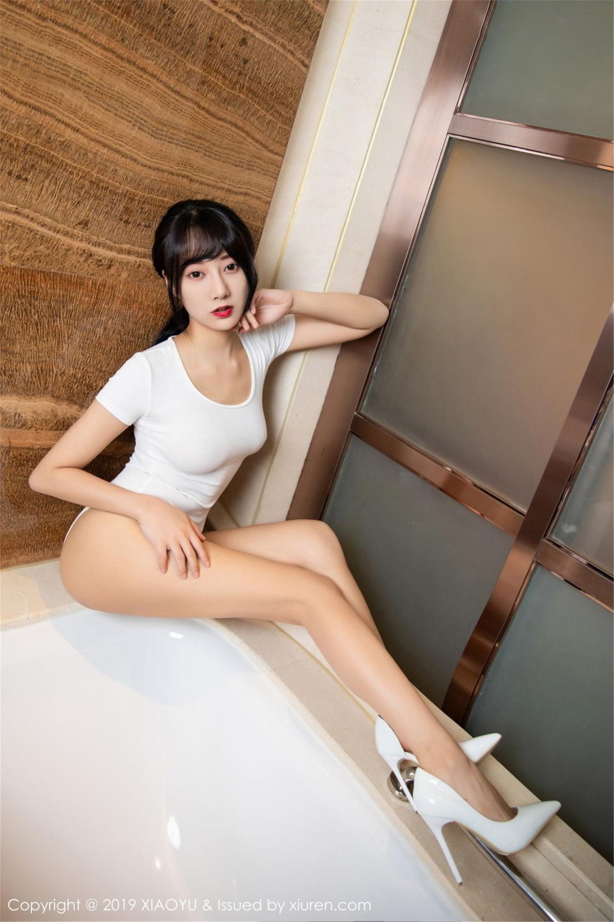[XiaoYu] Vol.116 He Jia Ying 13P, Bathroom, He Jia Ying, Wet, XiaoYu