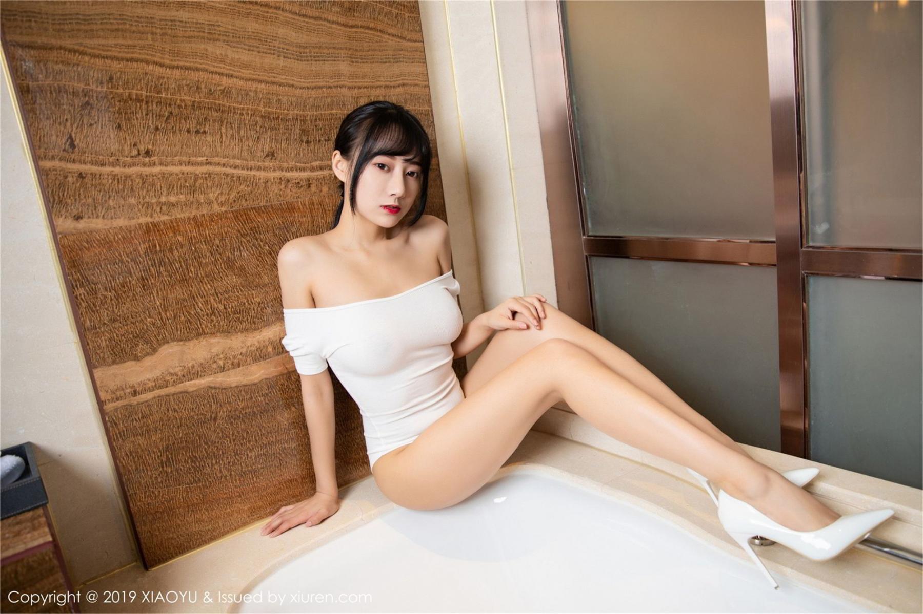 [XiaoYu] Vol.116 He Jia Ying 14P, Bathroom, He Jia Ying, Wet, XiaoYu