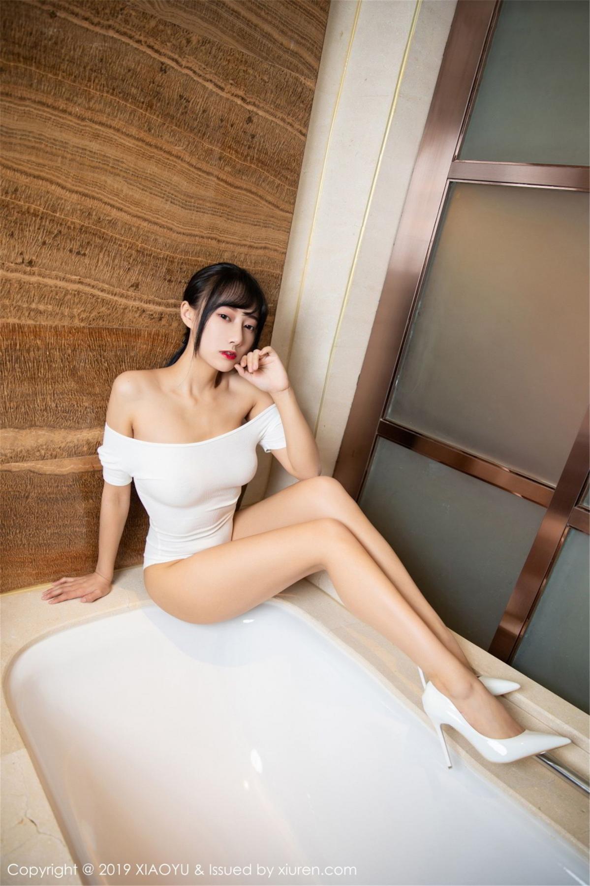 [XiaoYu] Vol.116 He Jia Ying 15P, Bathroom, He Jia Ying, Wet, XiaoYu