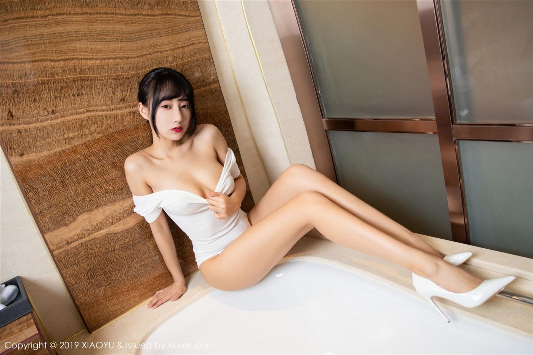 [XiaoYu] Vol.116 He Jia Ying 16P, Bathroom, He Jia Ying, Wet, XiaoYu