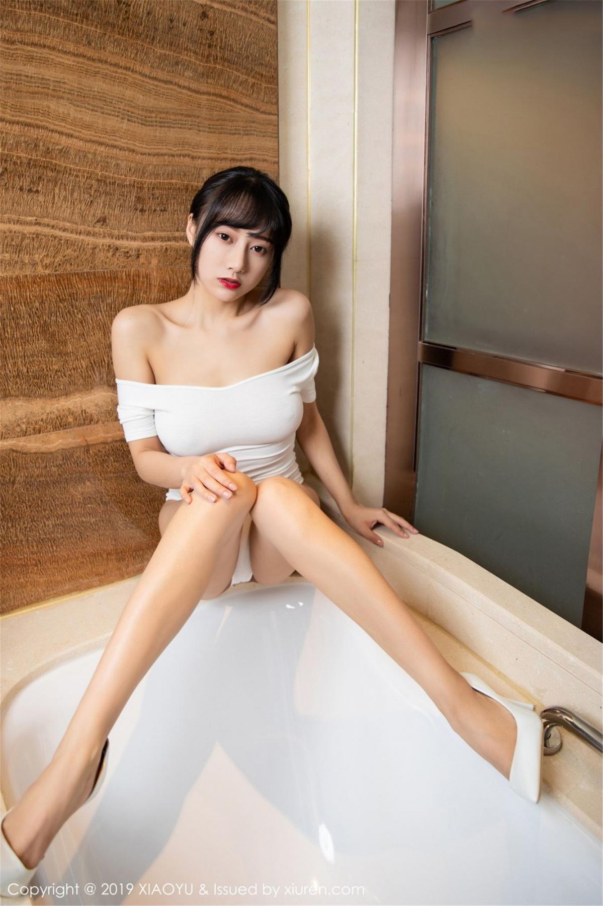 [XiaoYu] Vol.116 He Jia Ying 18P, Bathroom, He Jia Ying, Wet, XiaoYu