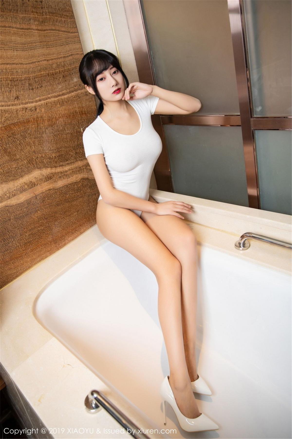 [XiaoYu] Vol.116 He Jia Ying 1P, Bathroom, He Jia Ying, Wet, XiaoYu