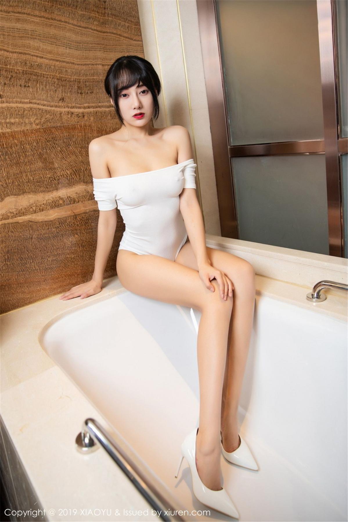 [XiaoYu] Vol.116 He Jia Ying 20P, Bathroom, He Jia Ying, Wet, XiaoYu