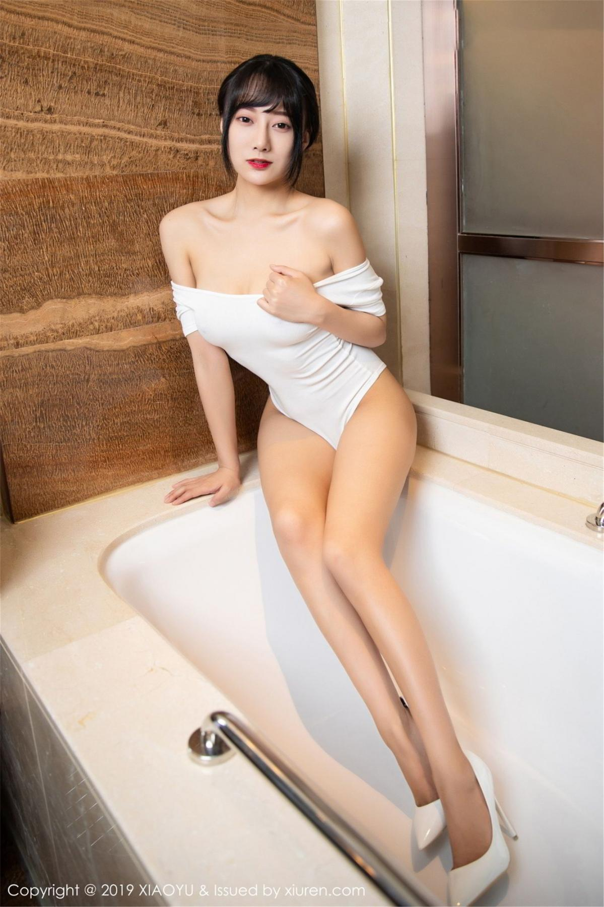 [XiaoYu] Vol.116 He Jia Ying 21P, Bathroom, He Jia Ying, Wet, XiaoYu