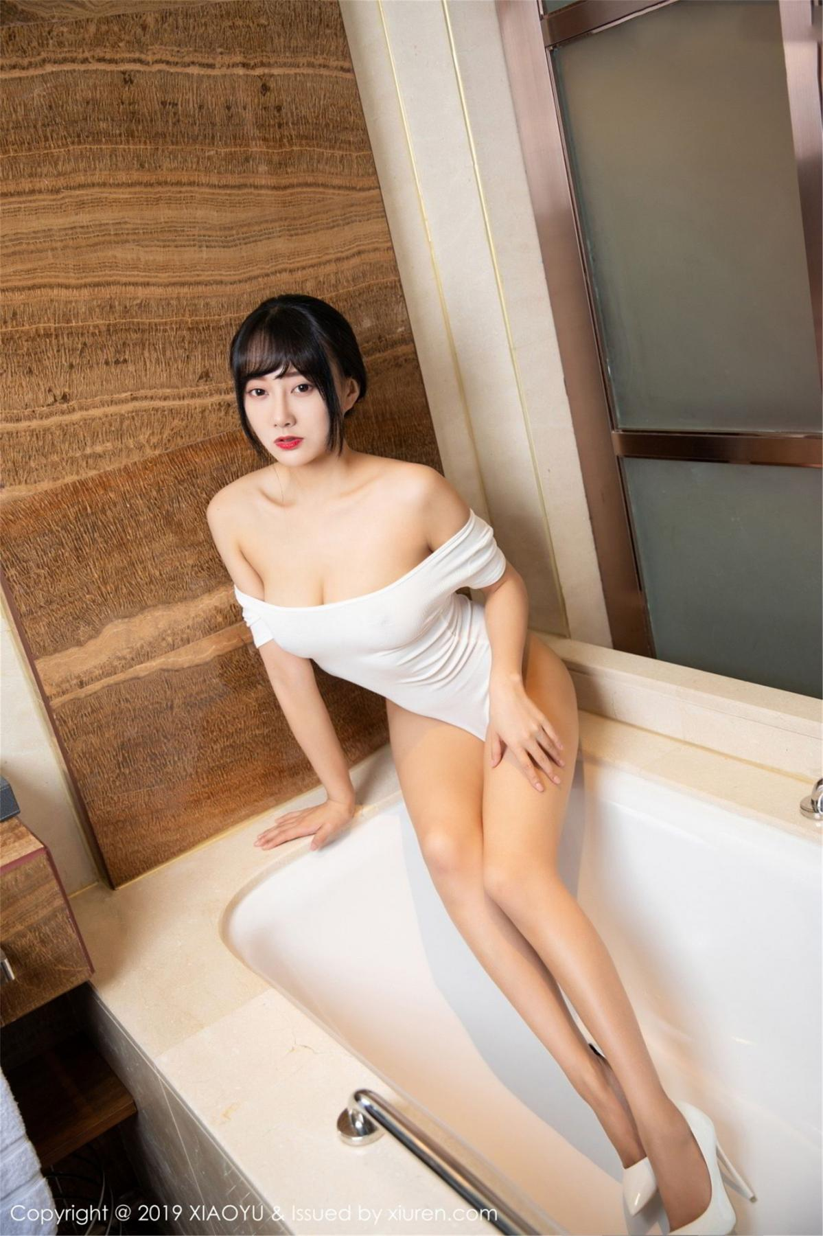 [XiaoYu] Vol.116 He Jia Ying 23P, Bathroom, He Jia Ying, Wet, XiaoYu