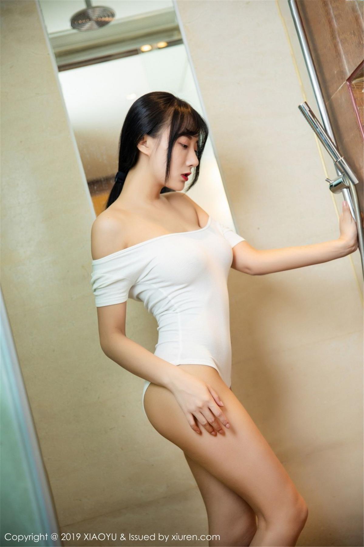 [XiaoYu] Vol.116 He Jia Ying 25P, Bathroom, He Jia Ying, Wet, XiaoYu