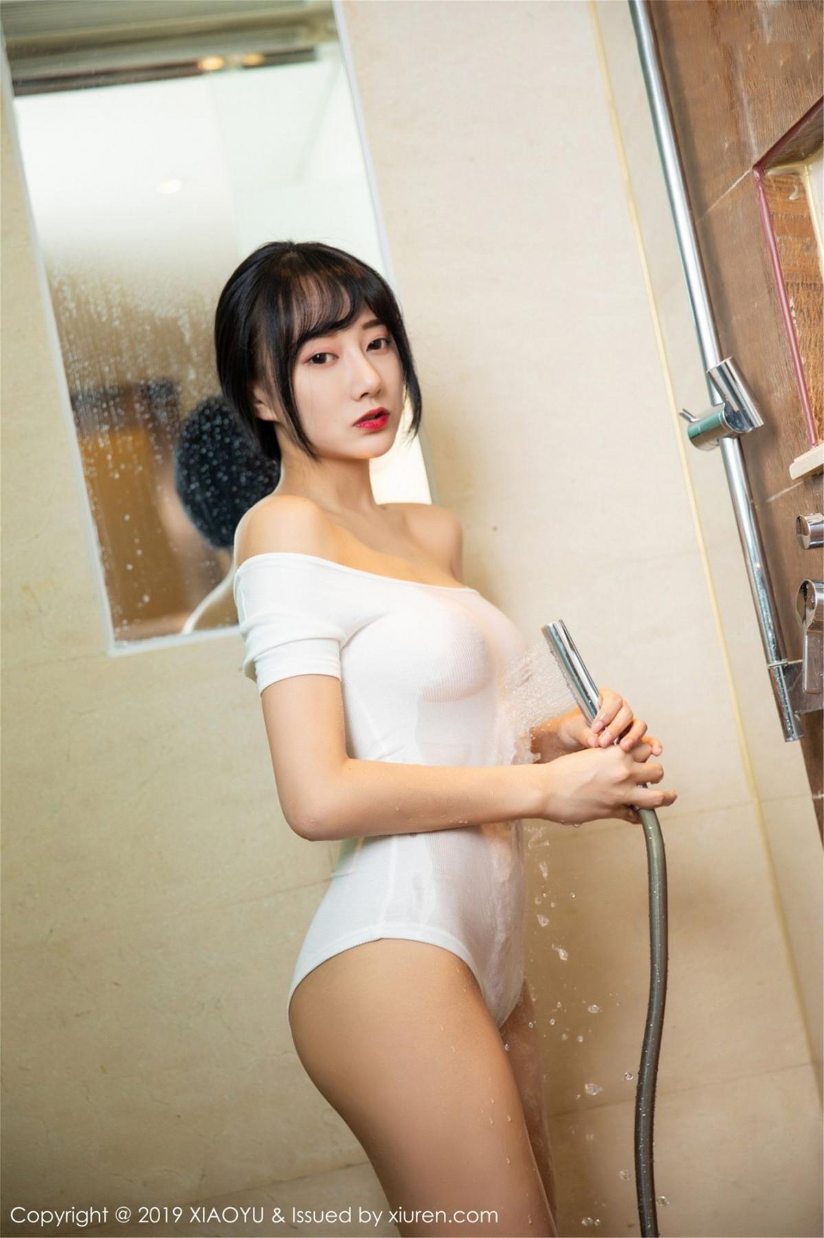 [XiaoYu] Vol.116 He Jia Ying 27P, Bathroom, He Jia Ying, Wet, XiaoYu