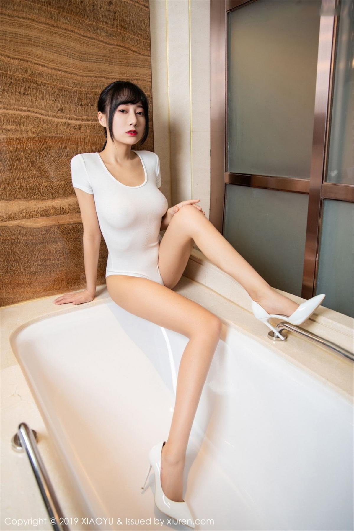 [XiaoYu] Vol.116 He Jia Ying 2P, Bathroom, He Jia Ying, Wet, XiaoYu