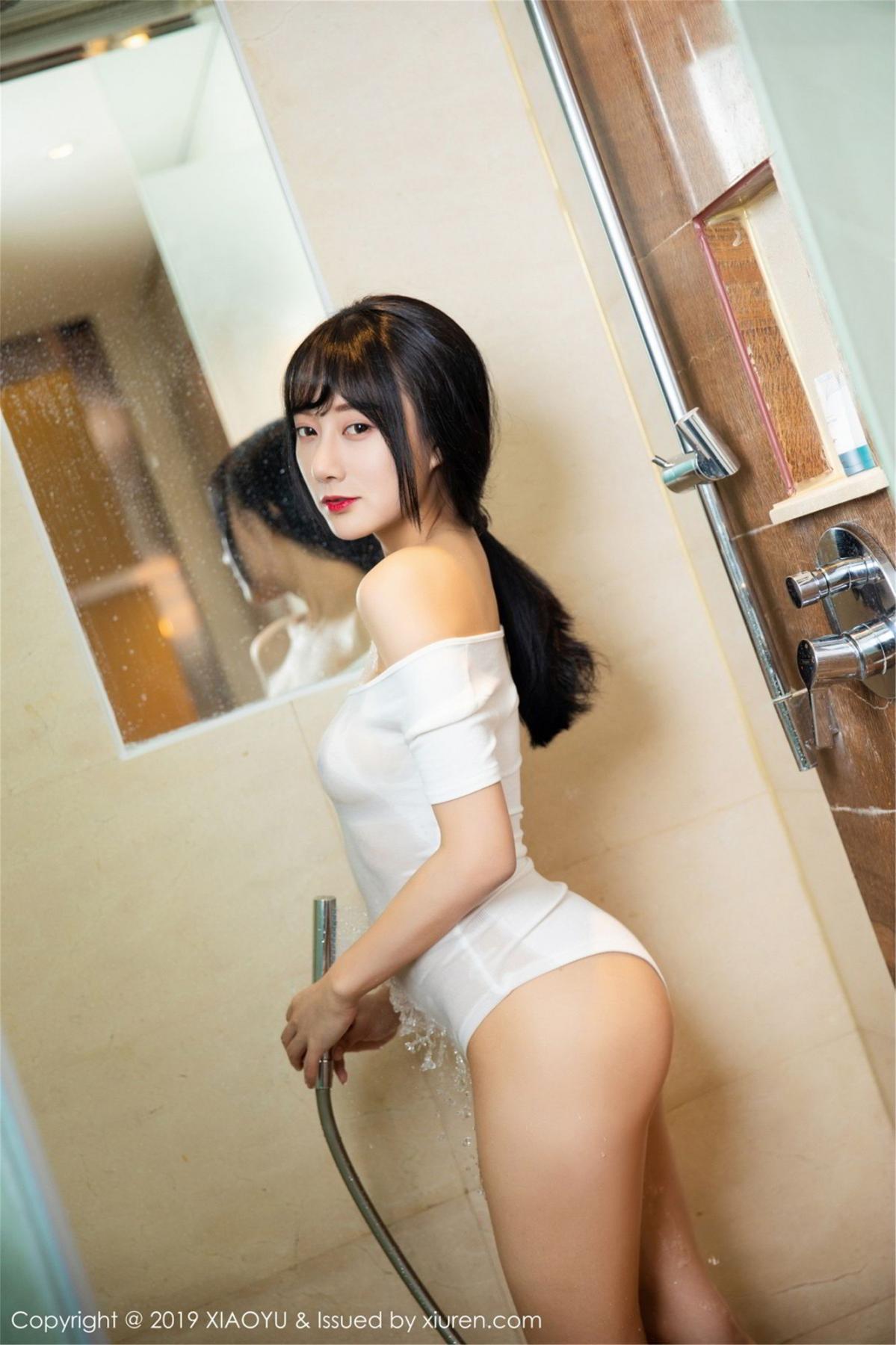 [XiaoYu] Vol.116 He Jia Ying 34P, Bathroom, He Jia Ying, Wet, XiaoYu