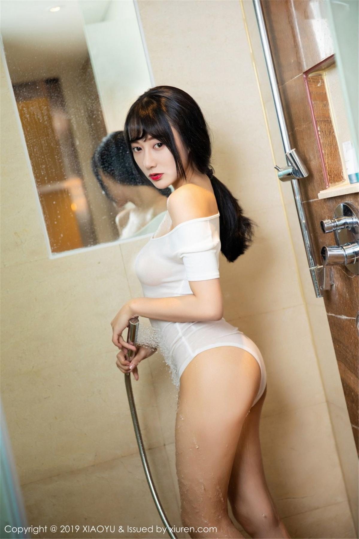 [XiaoYu] Vol.116 He Jia Ying 35P, Bathroom, He Jia Ying, Wet, XiaoYu