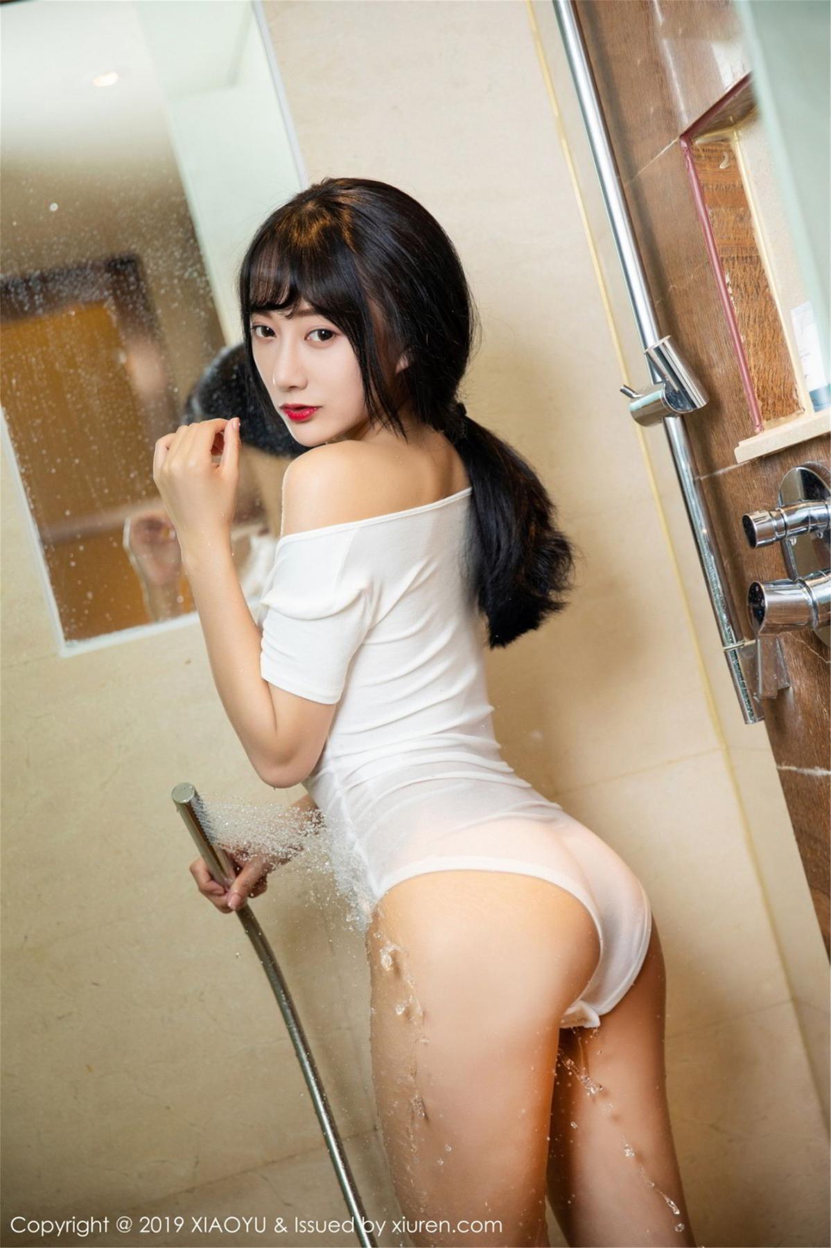 [XiaoYu] Vol.116 He Jia Ying 36P, Bathroom, He Jia Ying, Wet, XiaoYu