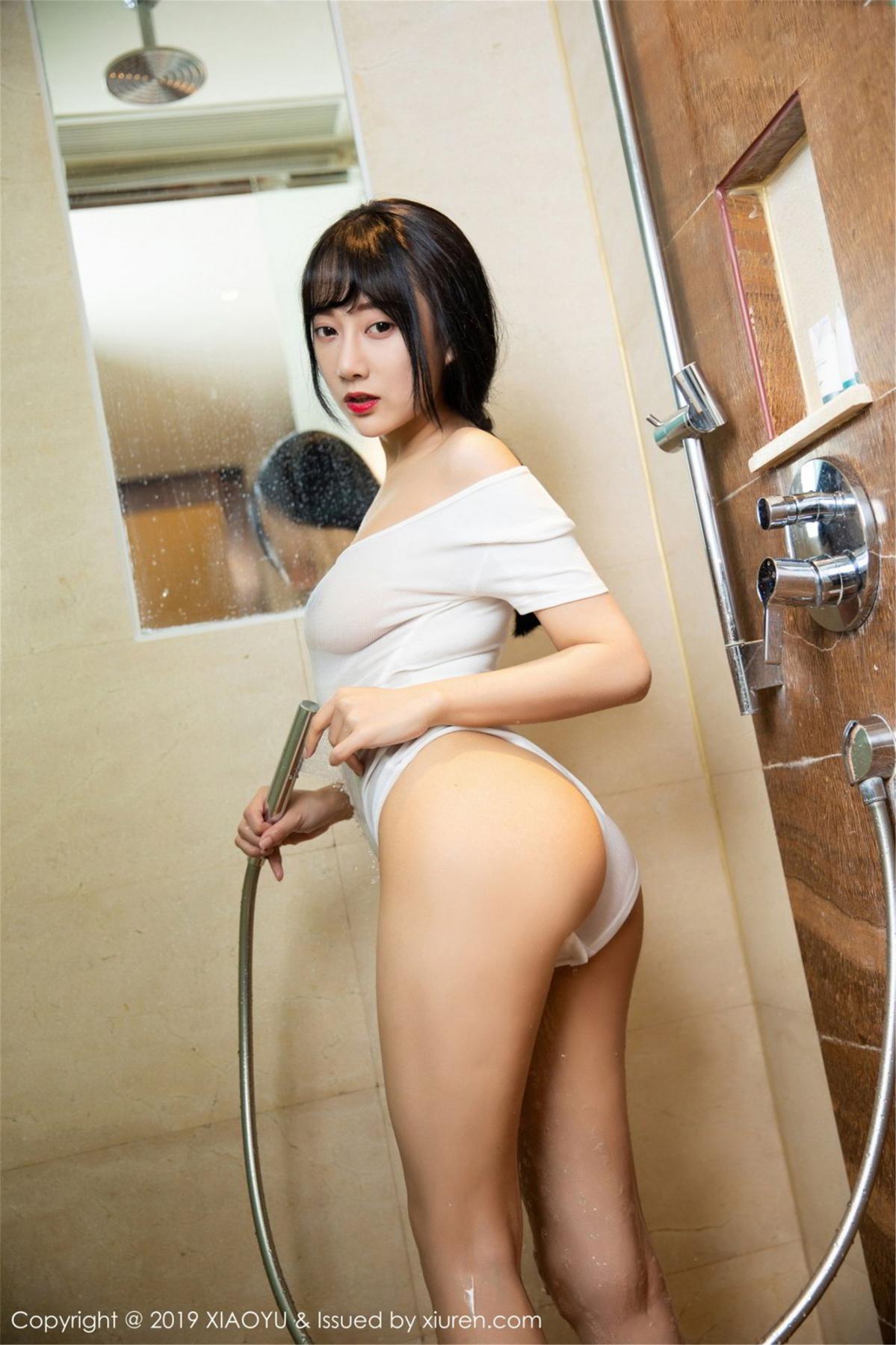 [XiaoYu] Vol.116 He Jia Ying 37P, Bathroom, He Jia Ying, Wet, XiaoYu