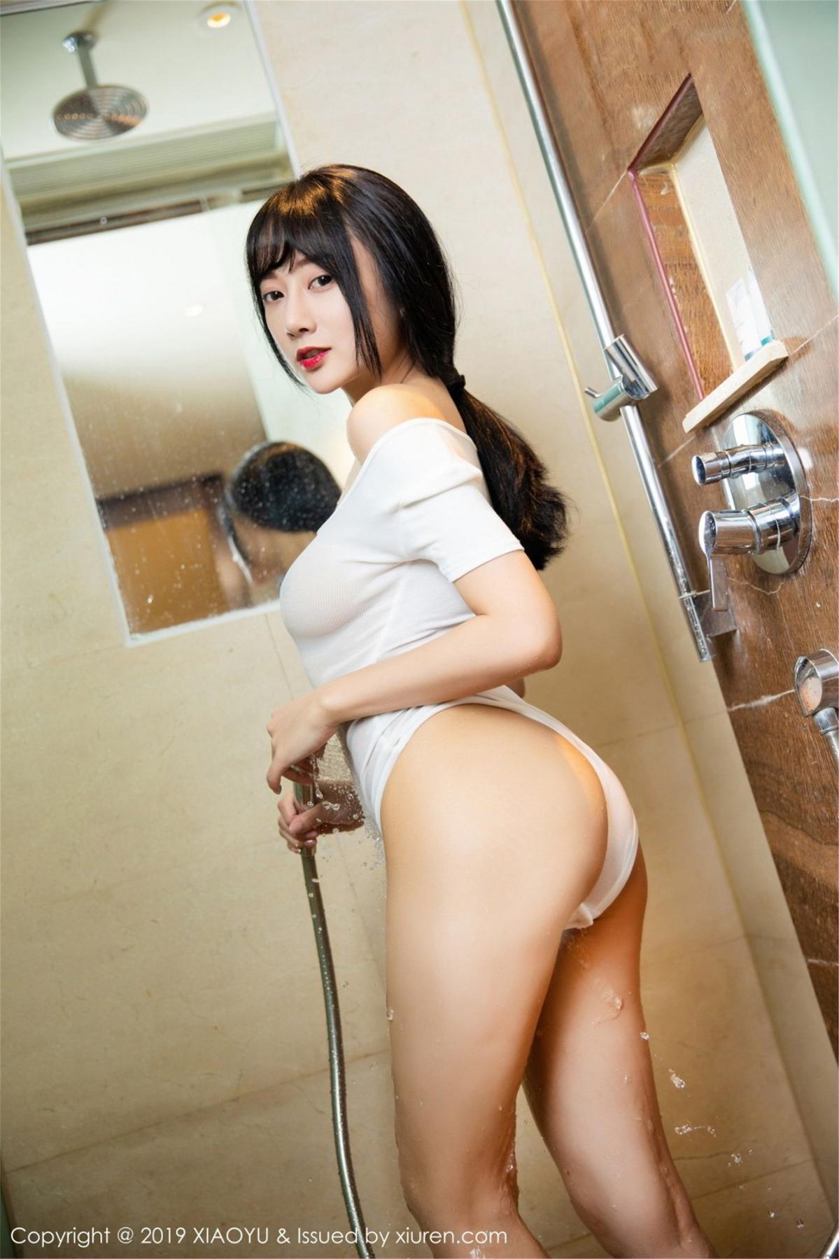 [XiaoYu] Vol.116 He Jia Ying 38P, Bathroom, He Jia Ying, Wet, XiaoYu