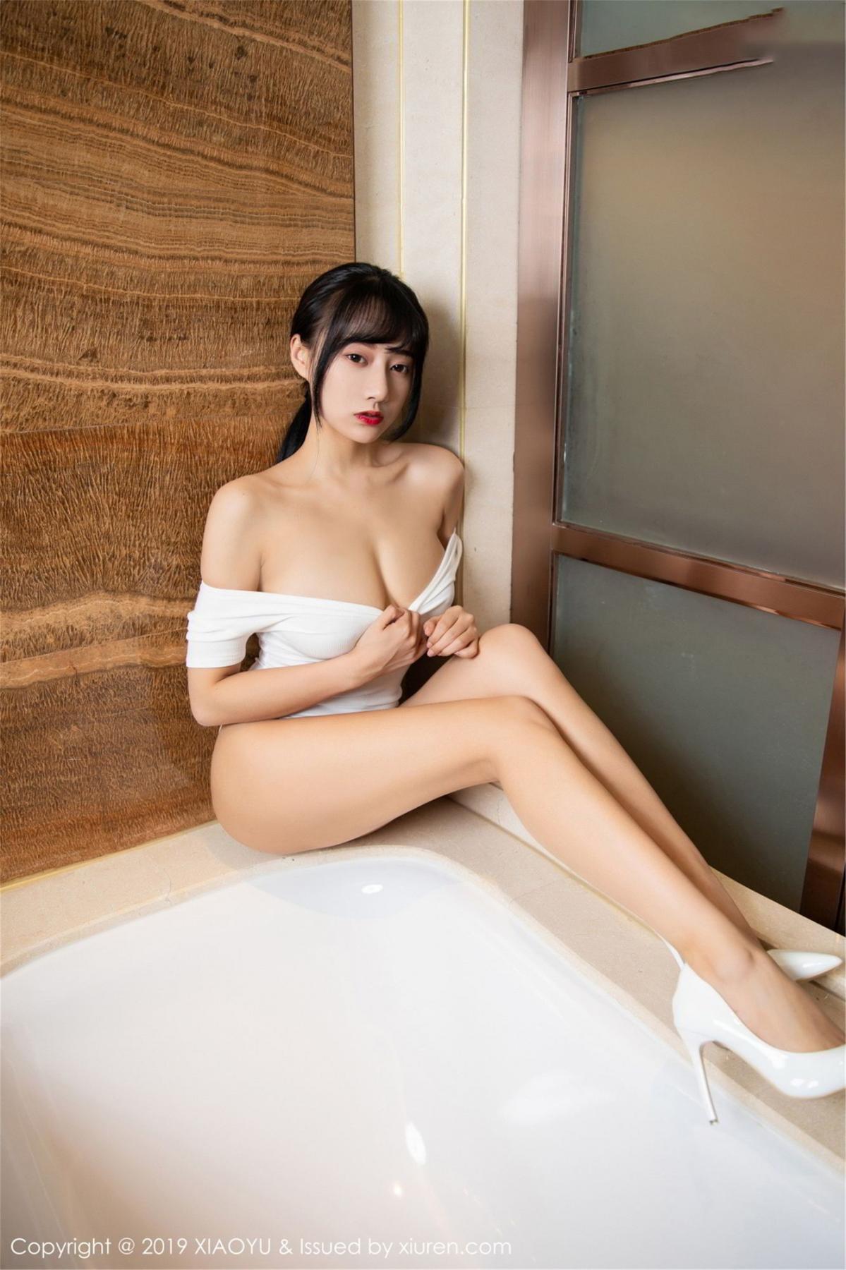 [XiaoYu] Vol.116 He Jia Ying 3P, Bathroom, He Jia Ying, Wet, XiaoYu