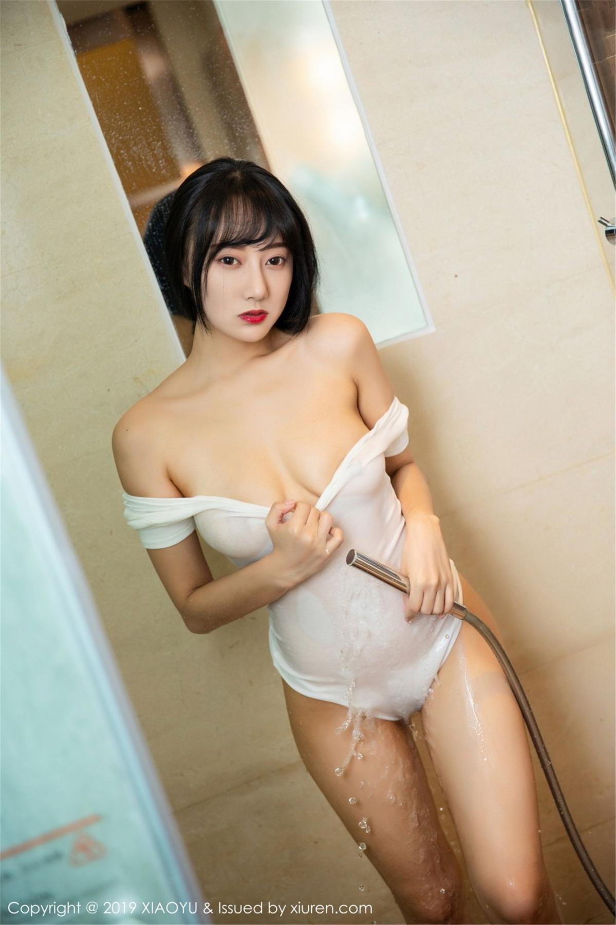 [XiaoYu] Vol.116 He Jia Ying 40P, Bathroom, He Jia Ying, Wet, XiaoYu