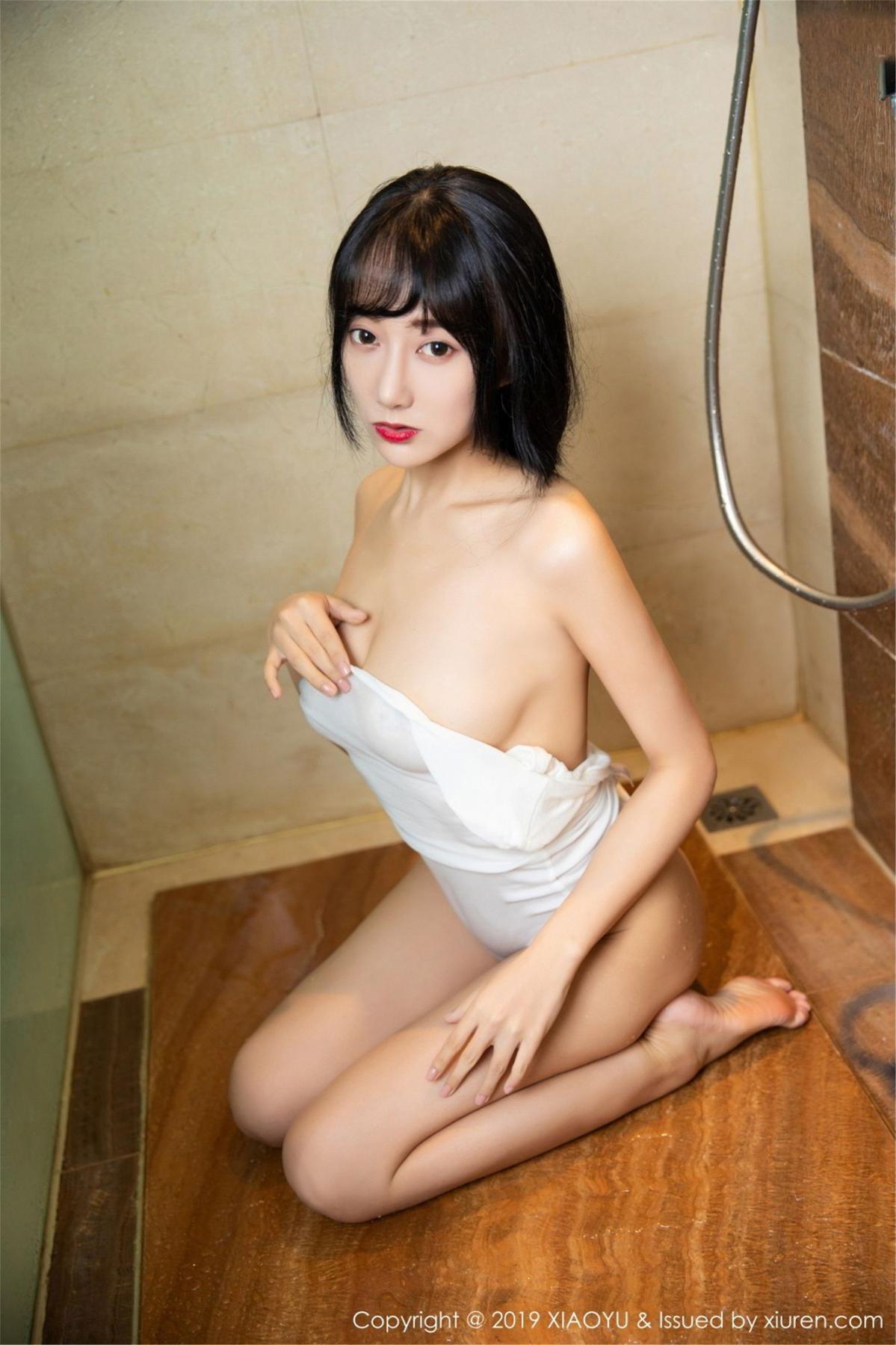 [XiaoYu] Vol.116 He Jia Ying 43P, Bathroom, He Jia Ying, Wet, XiaoYu