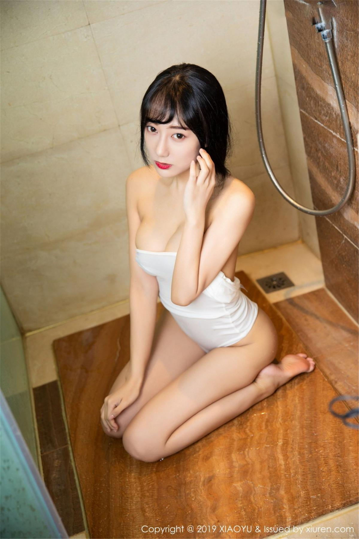 [XiaoYu] Vol.116 He Jia Ying 44P, Bathroom, He Jia Ying, Wet, XiaoYu