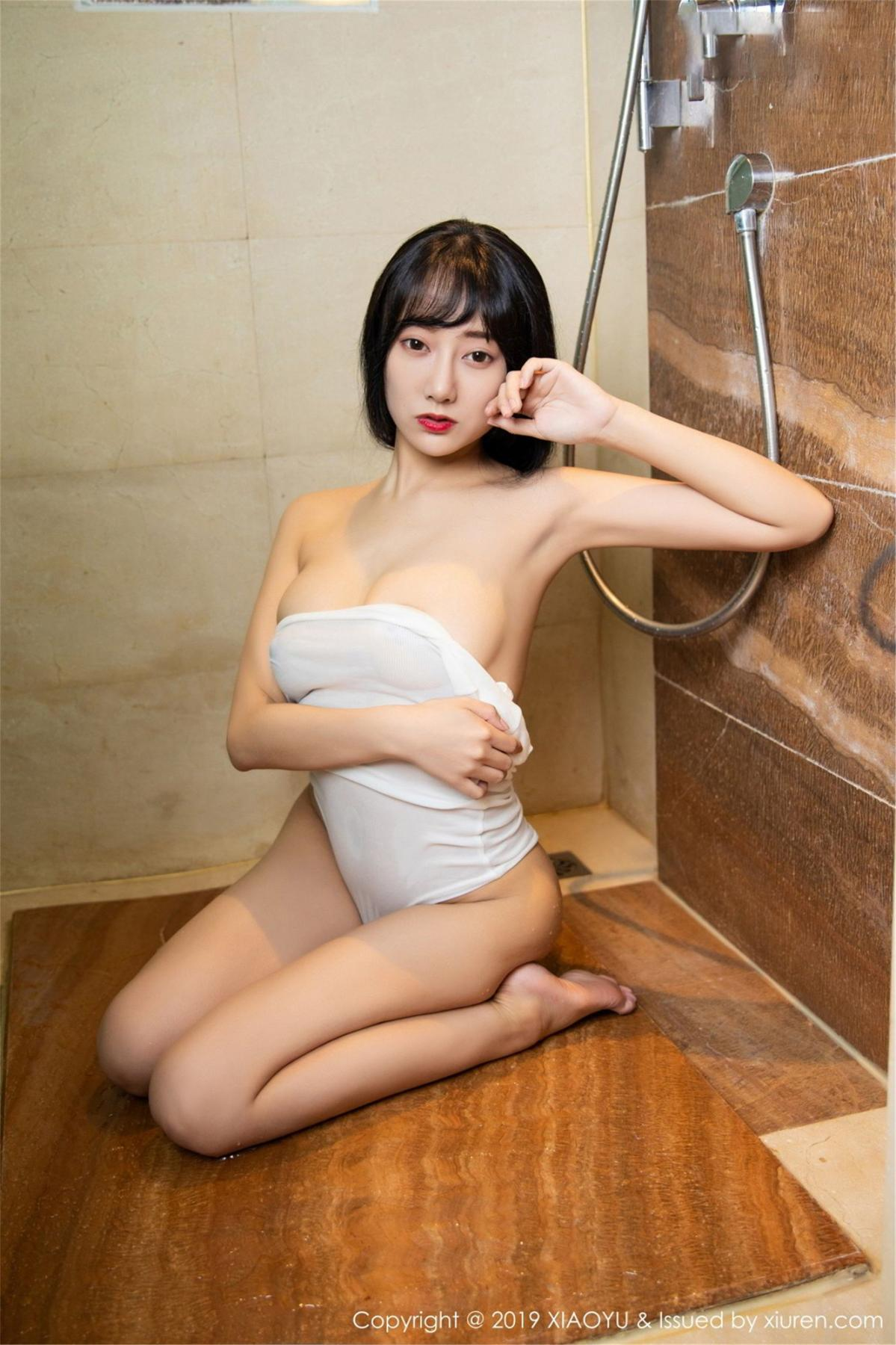 [XiaoYu] Vol.116 He Jia Ying 47P, Bathroom, He Jia Ying, Wet, XiaoYu