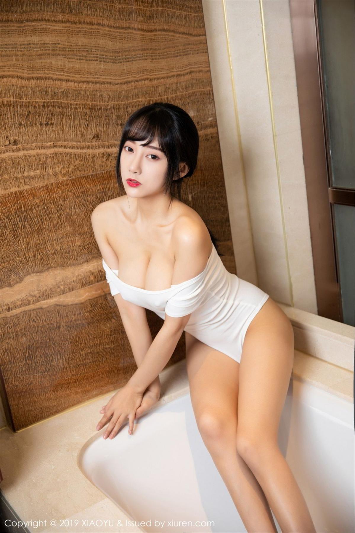 [XiaoYu] Vol.116 He Jia Ying 4P, Bathroom, He Jia Ying, Wet, XiaoYu