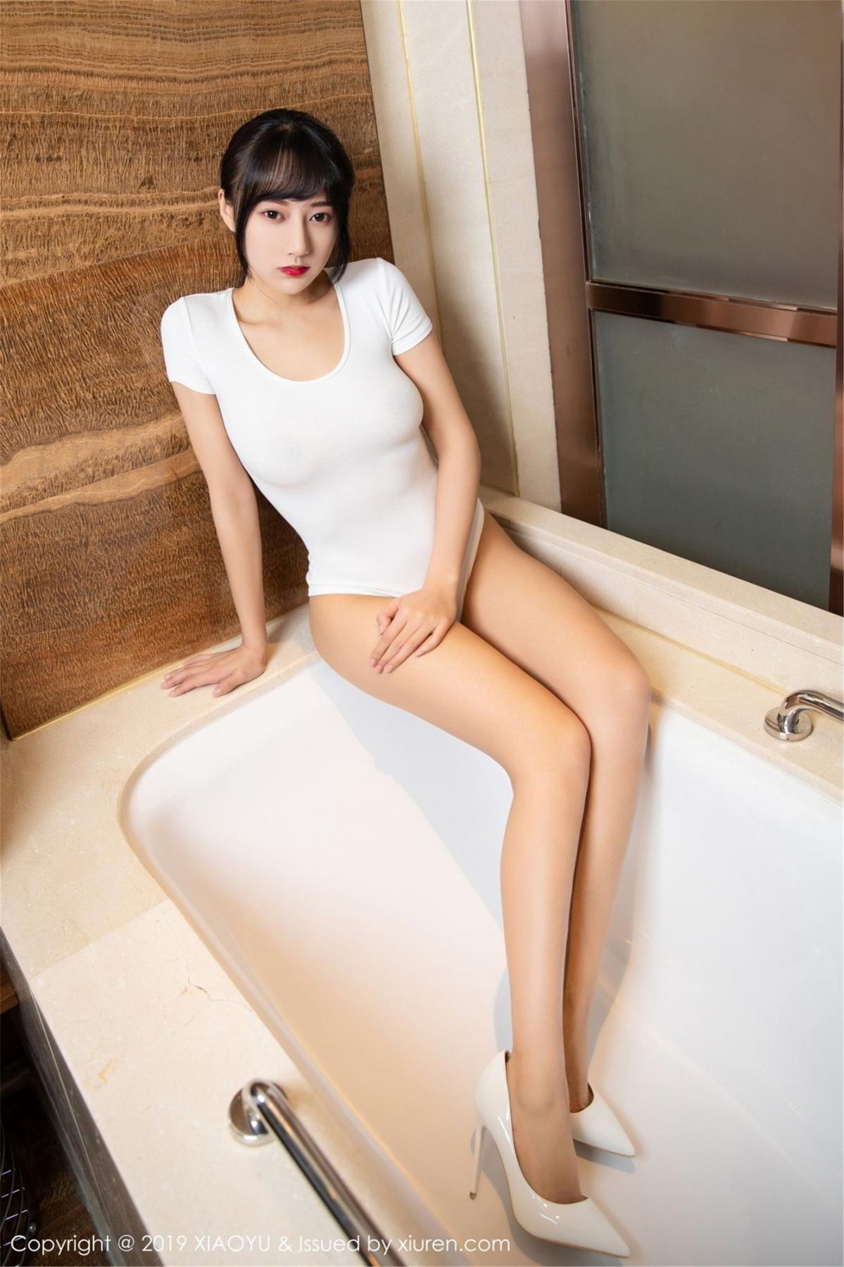 [XiaoYu] Vol.116 He Jia Ying 6P, Bathroom, He Jia Ying, Wet, XiaoYu