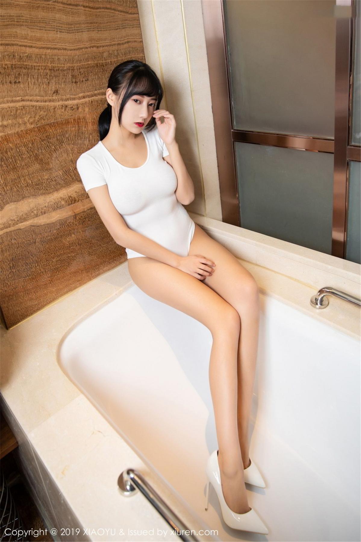 [XiaoYu] Vol.116 He Jia Ying 8P, Bathroom, He Jia Ying, Wet, XiaoYu