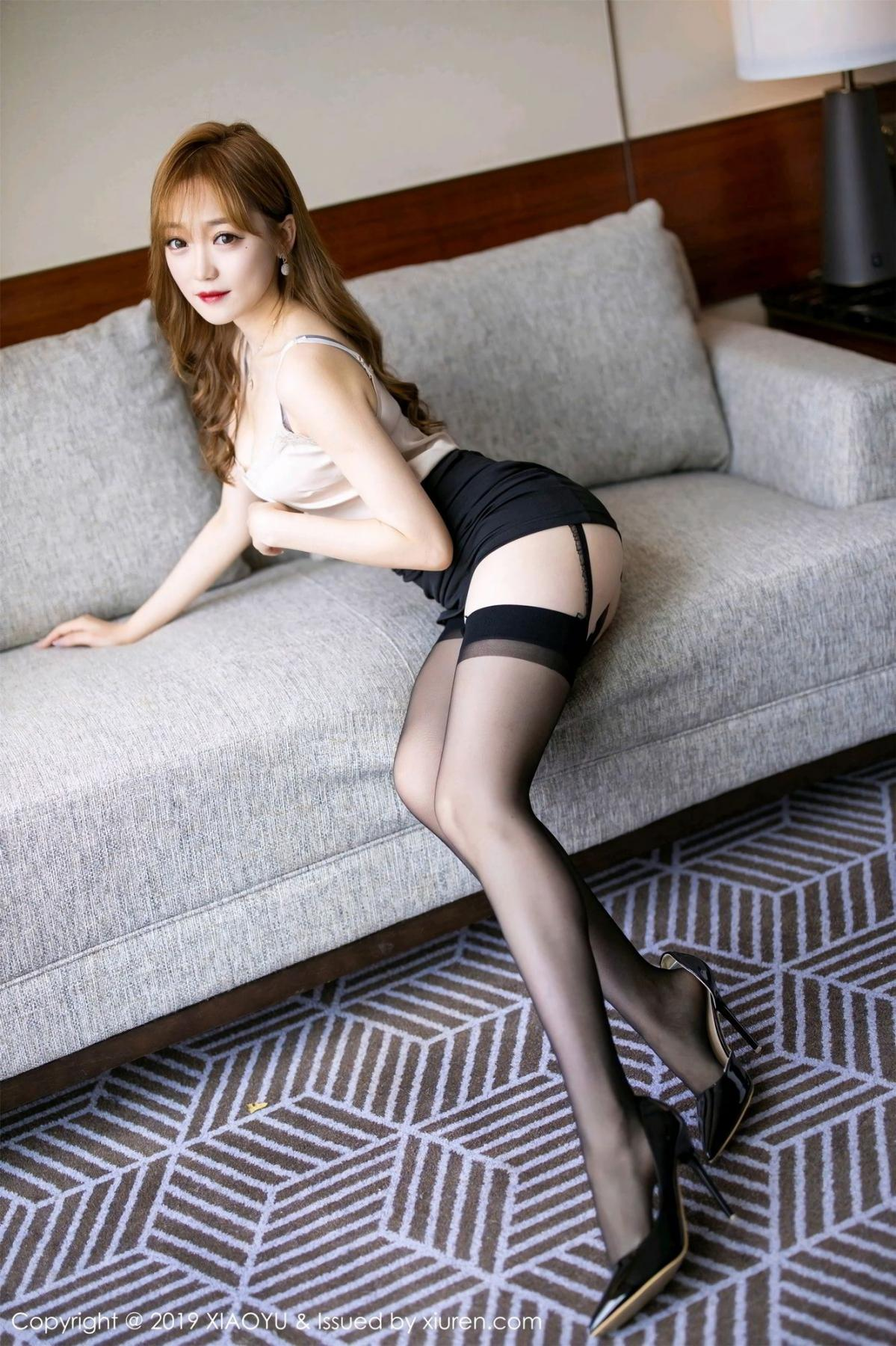[XiaoYu] Vol.120 Yuner Claire 1P, Black Silk, Tall, XiaoYu, Yuner Claire
