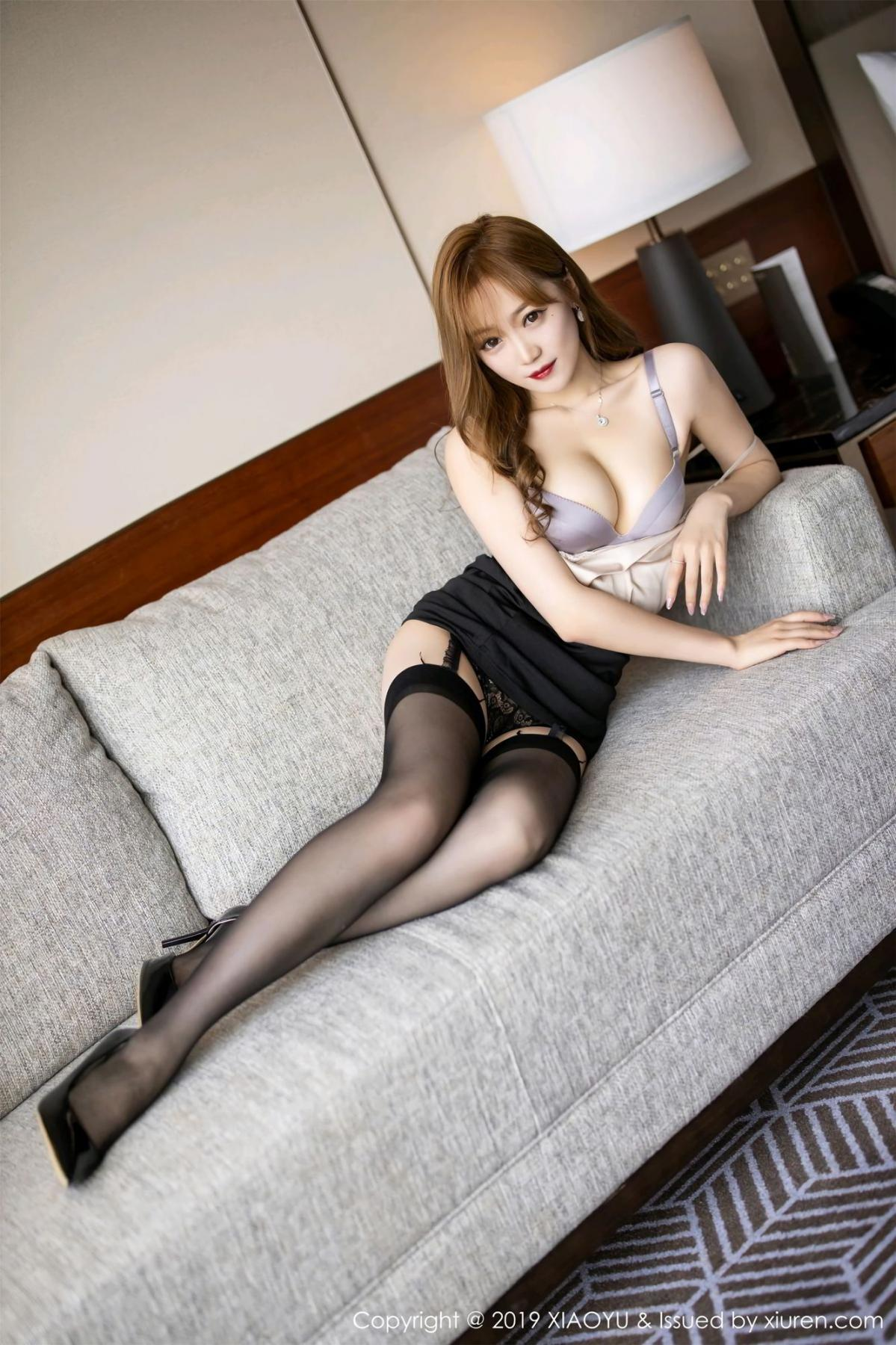 [XiaoYu] Vol.120 Yuner Claire 29P, Black Silk, Tall, XiaoYu, Yuner Claire