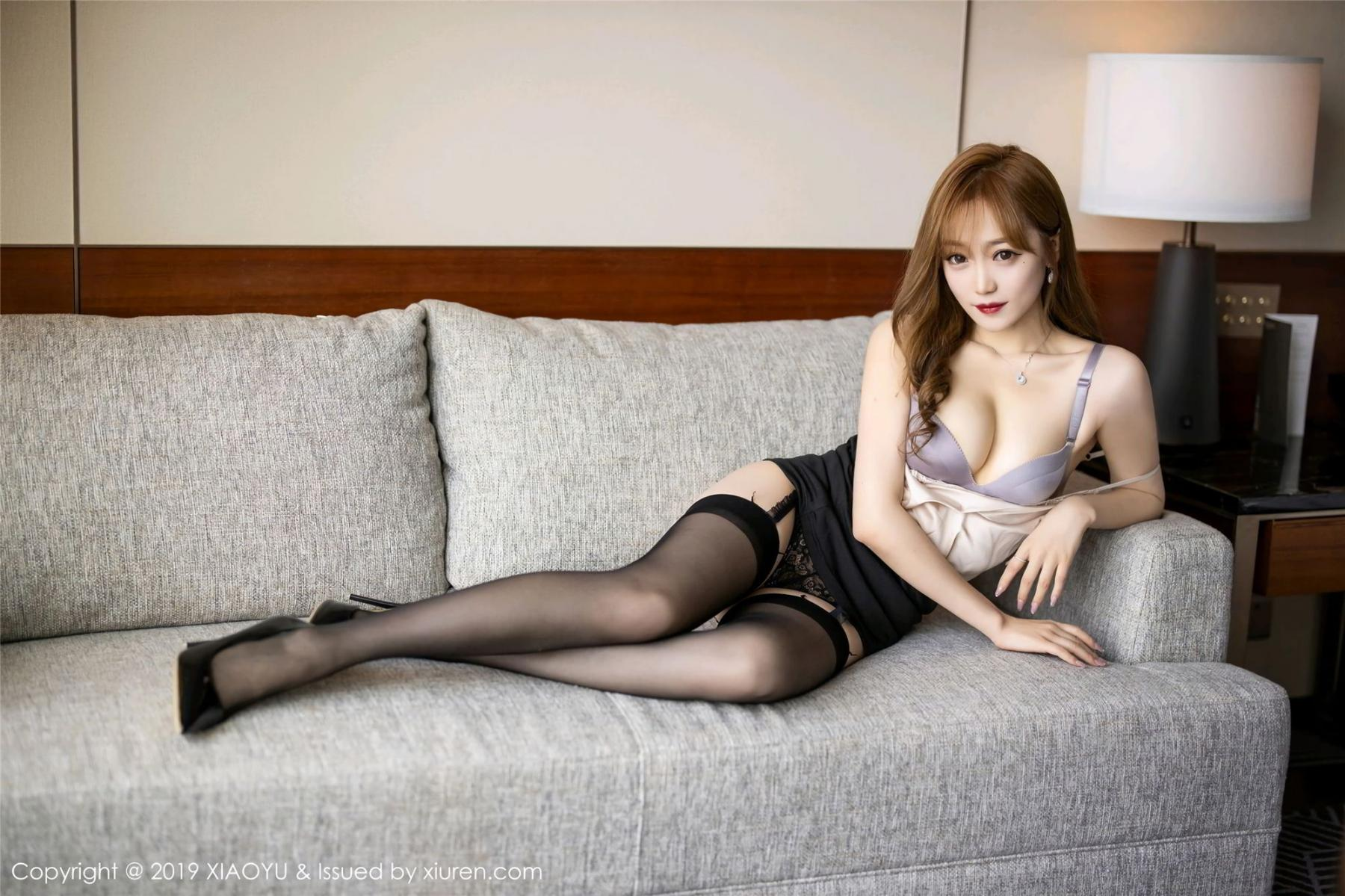 [XiaoYu] Vol.120 Yuner Claire 30P, Black Silk, Tall, XiaoYu, Yuner Claire