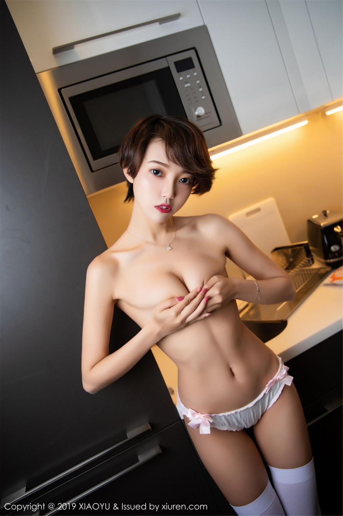 [XiaoYu] Vol.121 Feng Mu Mu 31P, Feng Mu Mu, Slim, Underwear, XiaoYu