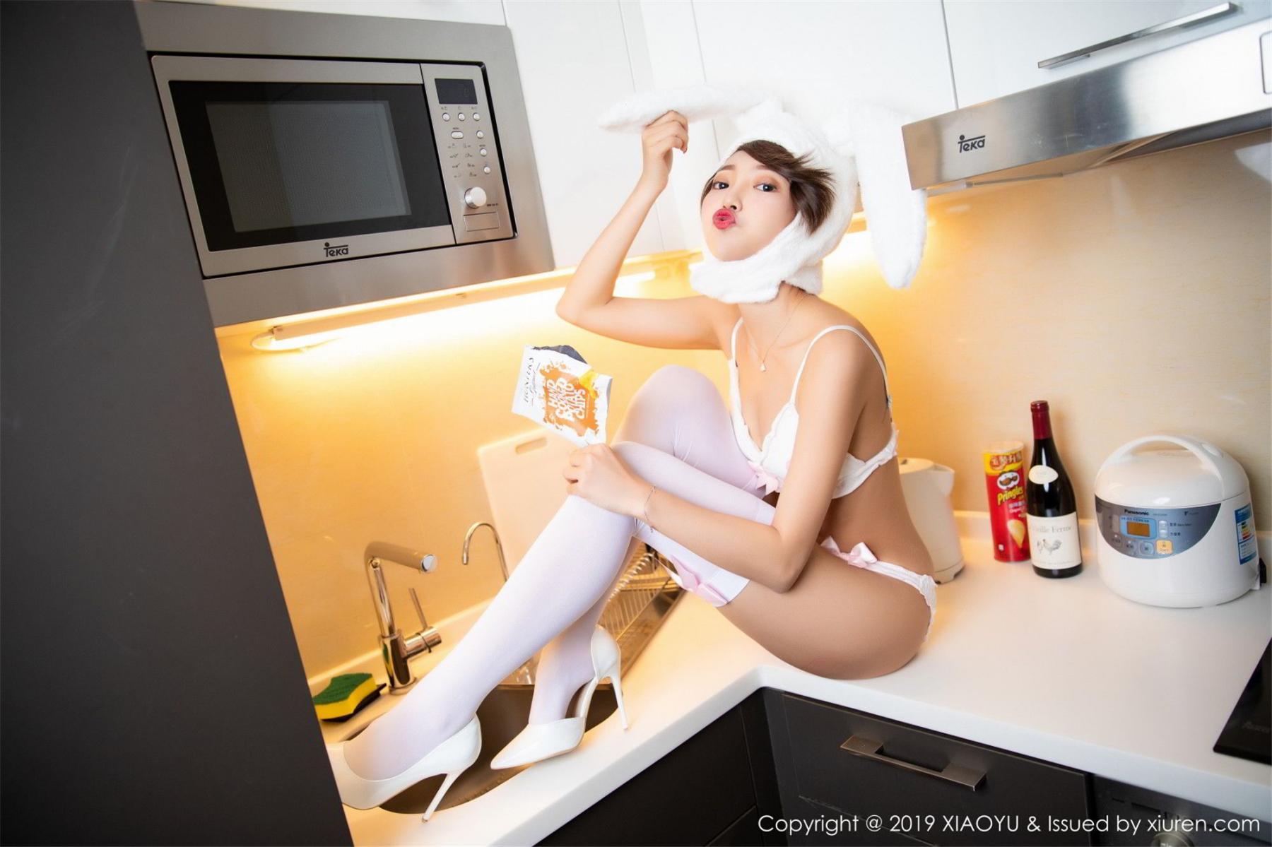 [XiaoYu] Vol.121 Feng Mu Mu 58P, Feng Mu Mu, Slim, Underwear, XiaoYu