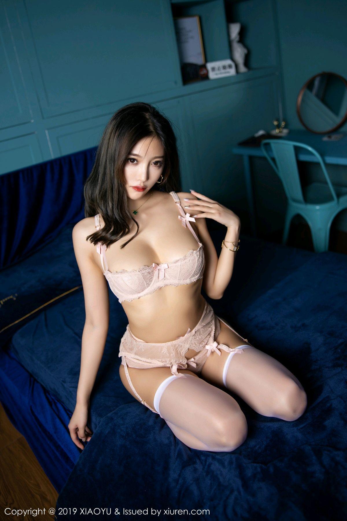 [XiaoYu] Vol.129 Yang Chen Chen 35P, Cheongsam, Tall, XiaoYu, Yang Chen Chen