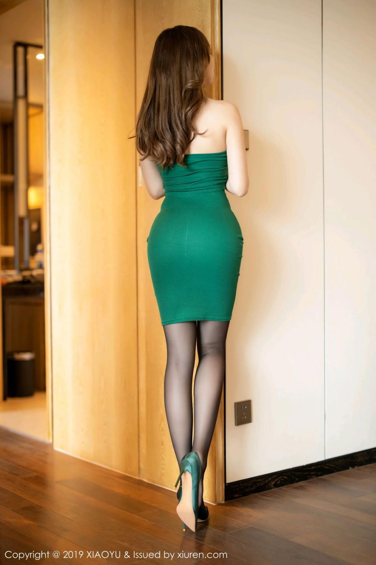 [XiaoYu] Vol.130 Chen Zhi 9P, Black Silk, Chen Zhi, Tall, Underwear, XiaoYu