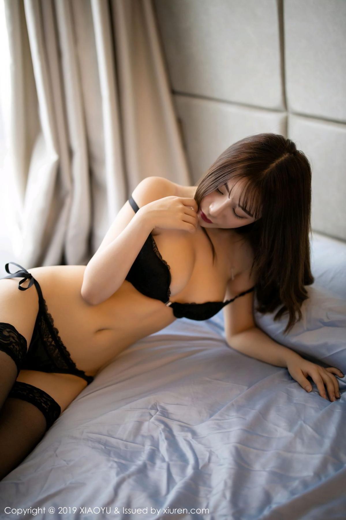 [XiaoYu] Vol.133 Xie Zhi Xin 29P, Black Silk, Tall, XiaoYu, Xie Zhi Xin