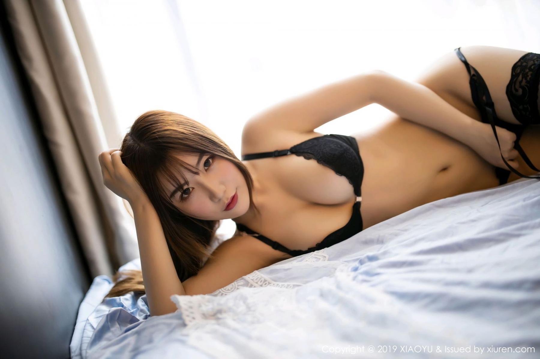 [XiaoYu] Vol.133 Xie Zhi Xin 37P, Black Silk, Tall, XiaoYu, Xie Zhi Xin