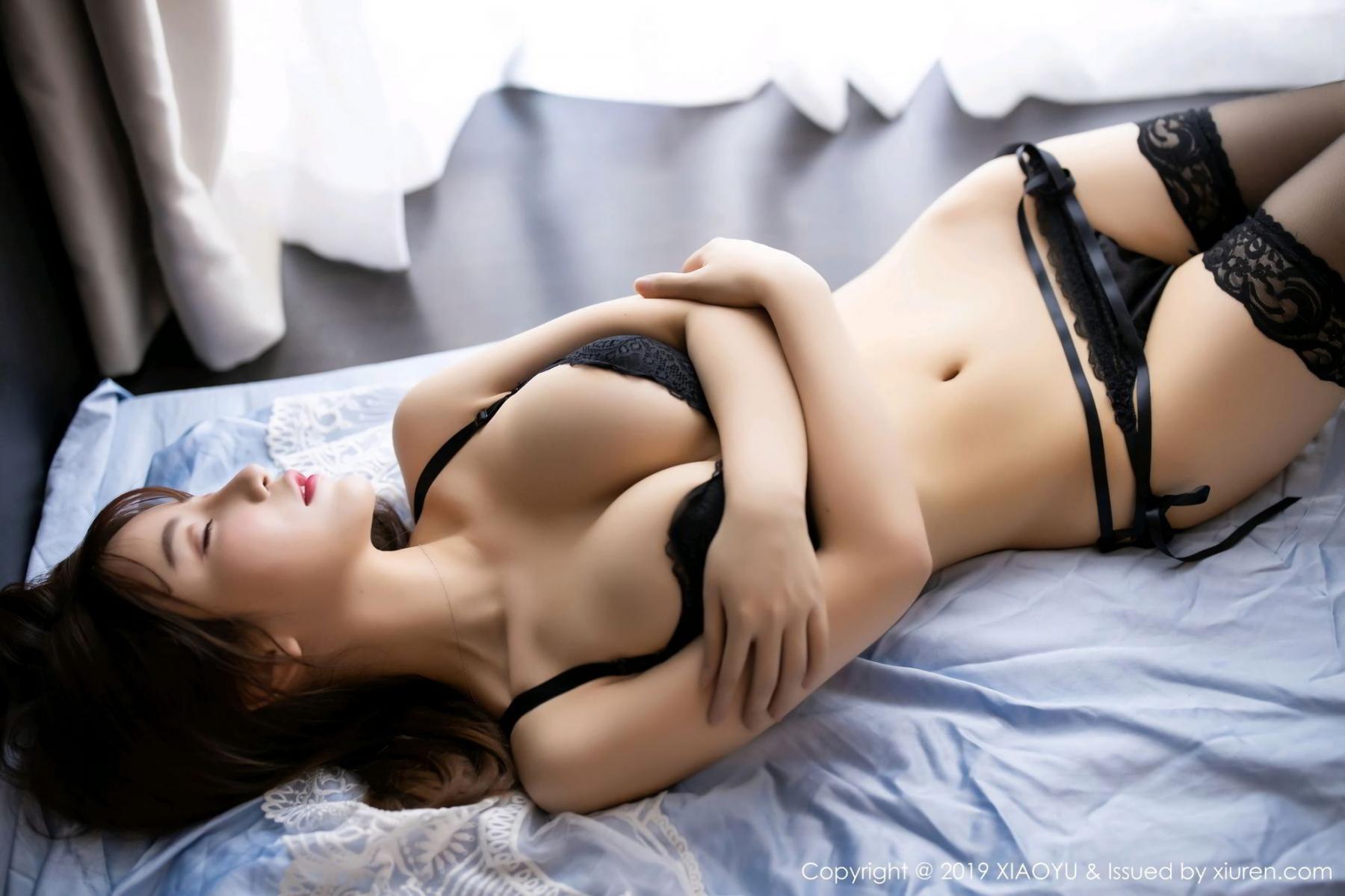 [XiaoYu] Vol.133 Xie Zhi Xin 39P, Black Silk, Tall, XiaoYu, Xie Zhi Xin