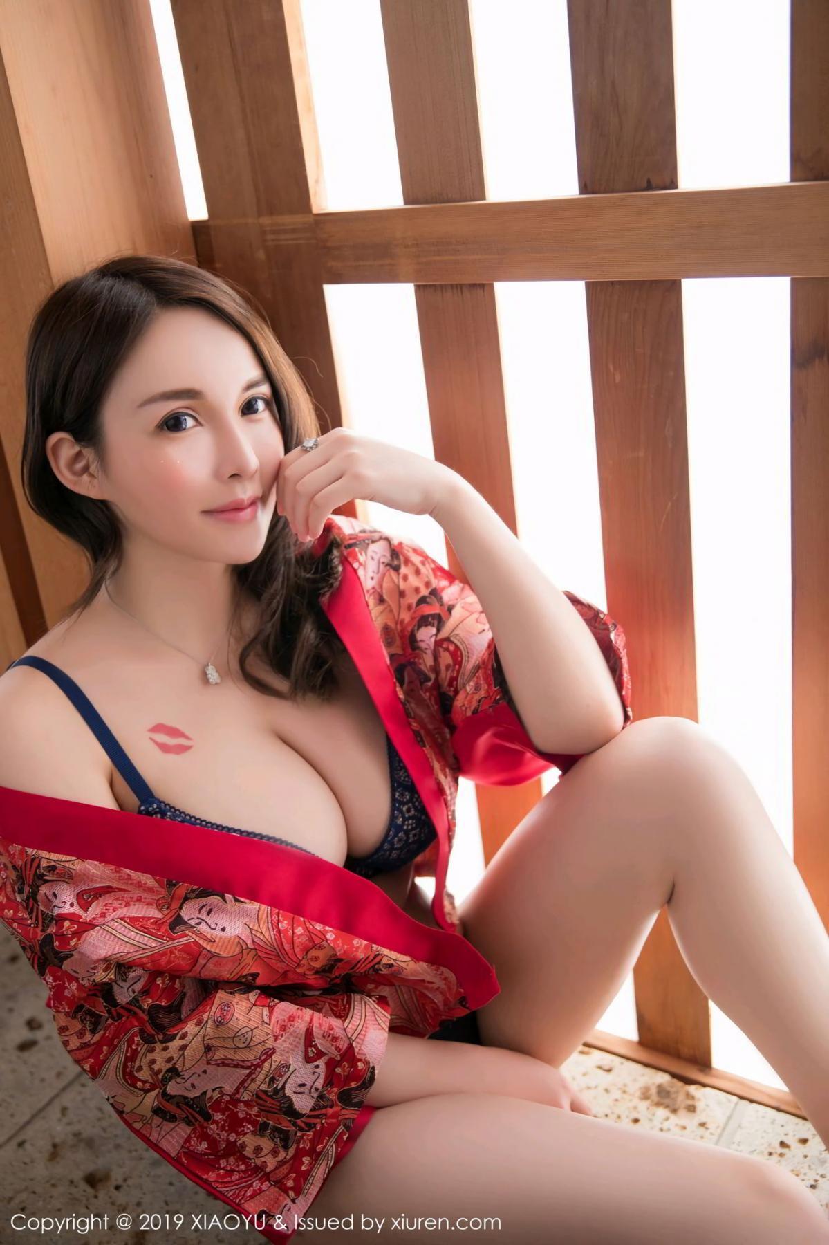 [XiaoYu] Vol.137 Shen Mi Tao 22P, Kimono, Shen Mi Tao, Underwear, XiaoYu