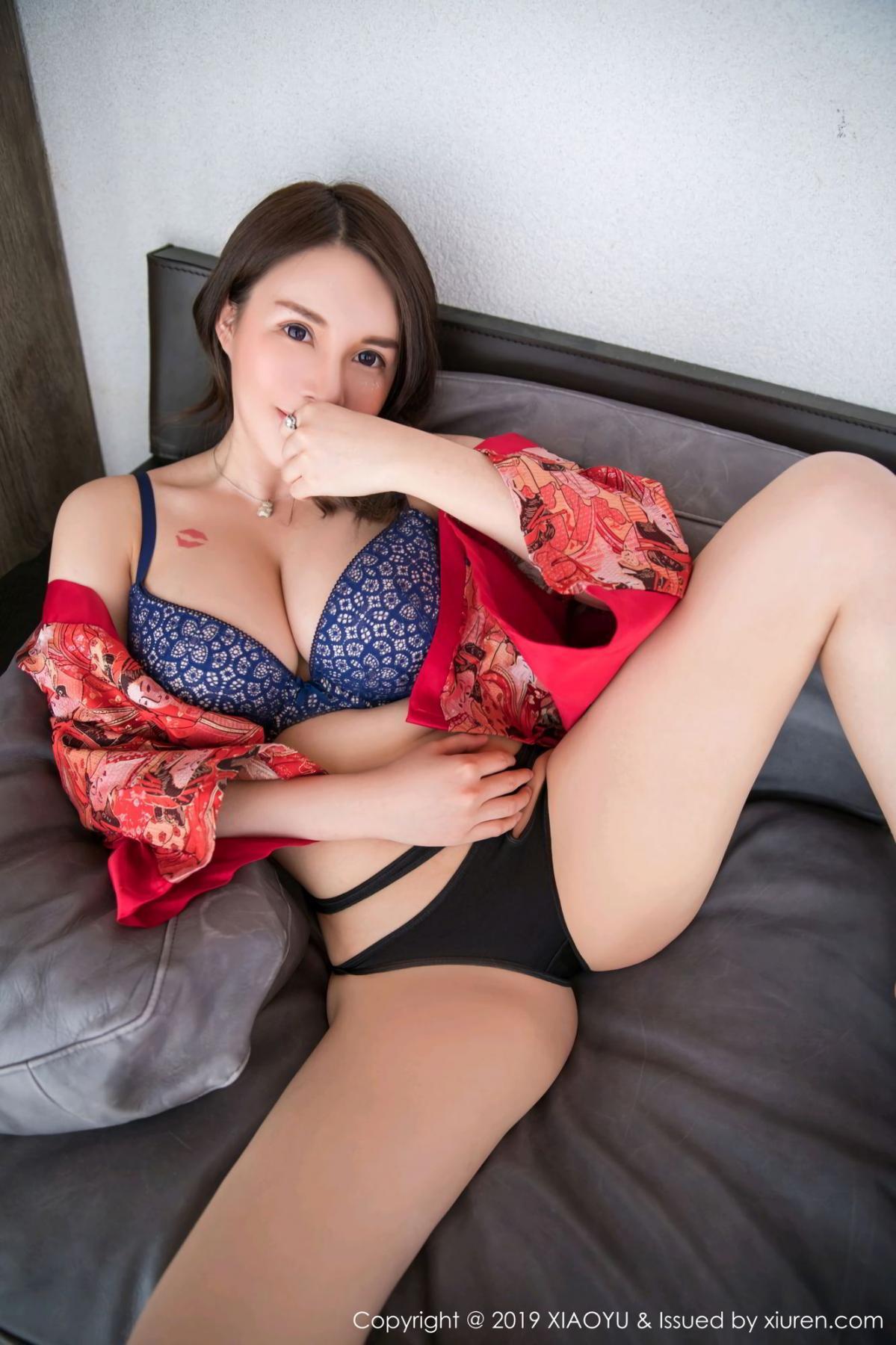 [XiaoYu] Vol.137 Shen Mi Tao 28P, Kimono, Shen Mi Tao, Underwear, XiaoYu