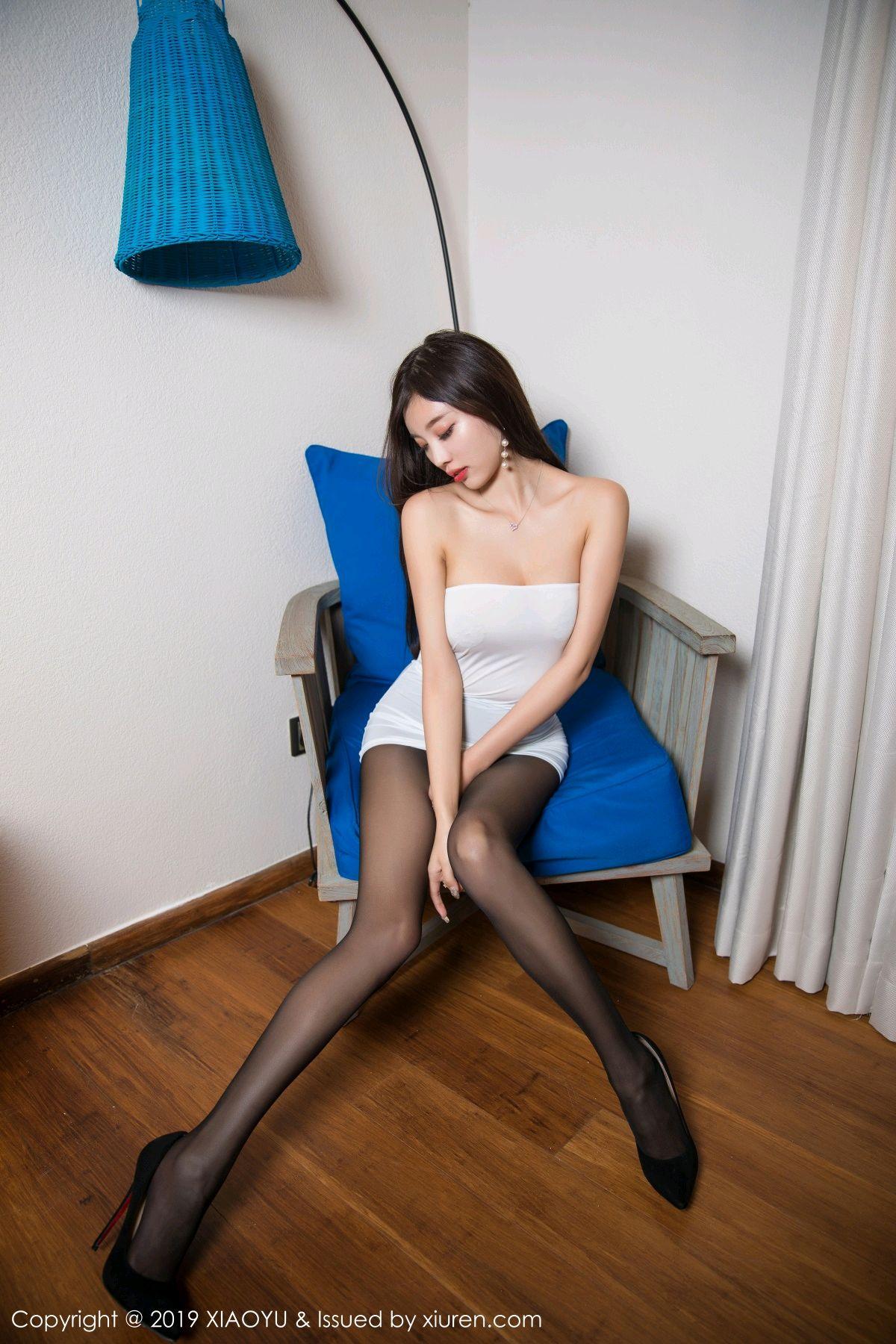 [XiaoYu] Vol.138 Yang Chen Chen 2P, Black Silk, Tall, XiaoYu, Yang Chen Chen