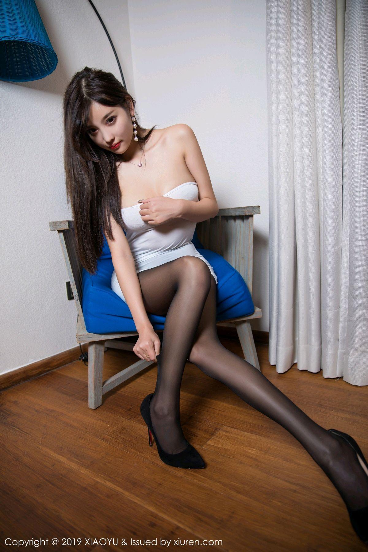 [XiaoYu] Vol.138 Yang Chen Chen 32P, Black Silk, Tall, XiaoYu, Yang Chen Chen