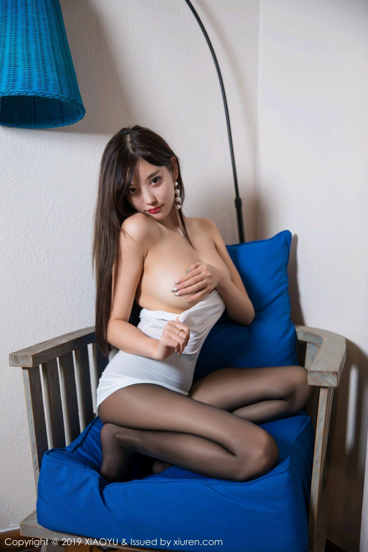 [XiaoYu] Vol.138 Yang Chen Chen 40P, Black Silk, Tall, XiaoYu, Yang Chen Chen