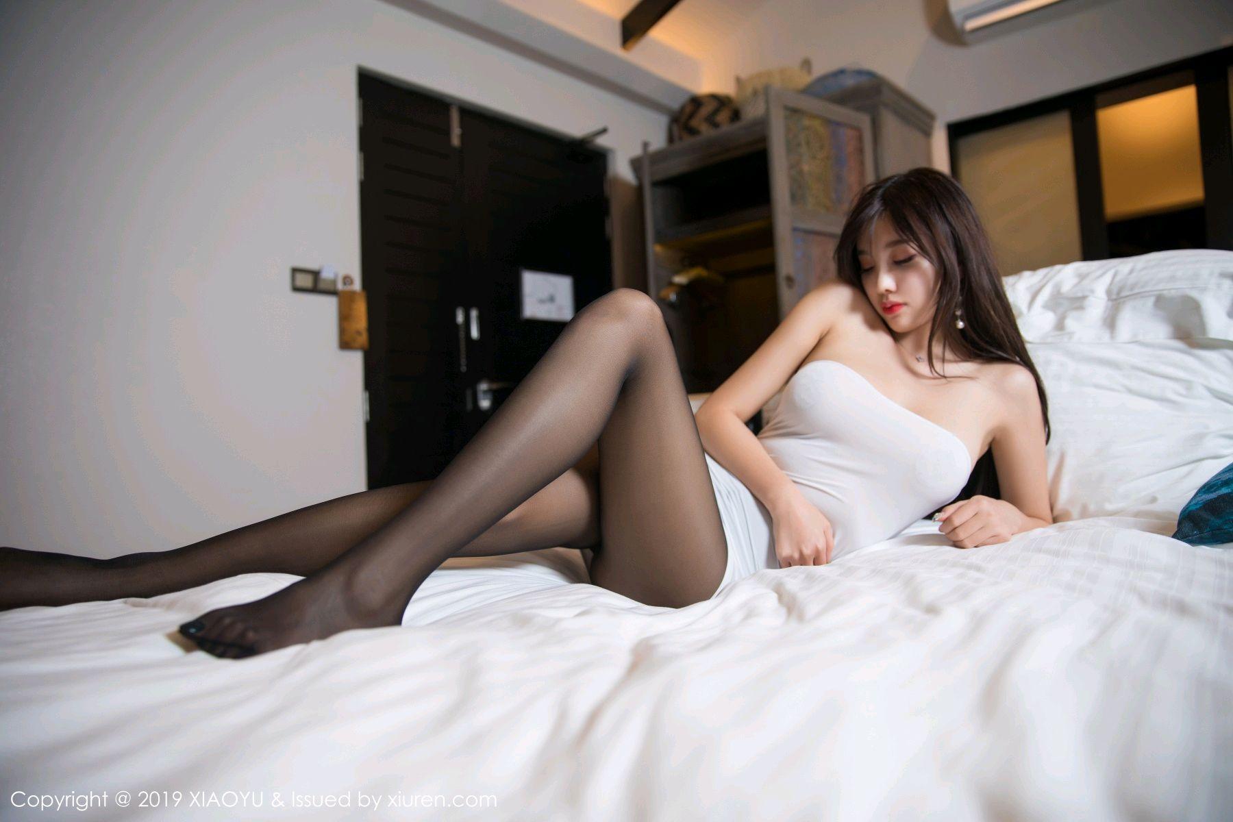 [XiaoYu] Vol.138 Yang Chen Chen 61P, Black Silk, Tall, XiaoYu, Yang Chen Chen