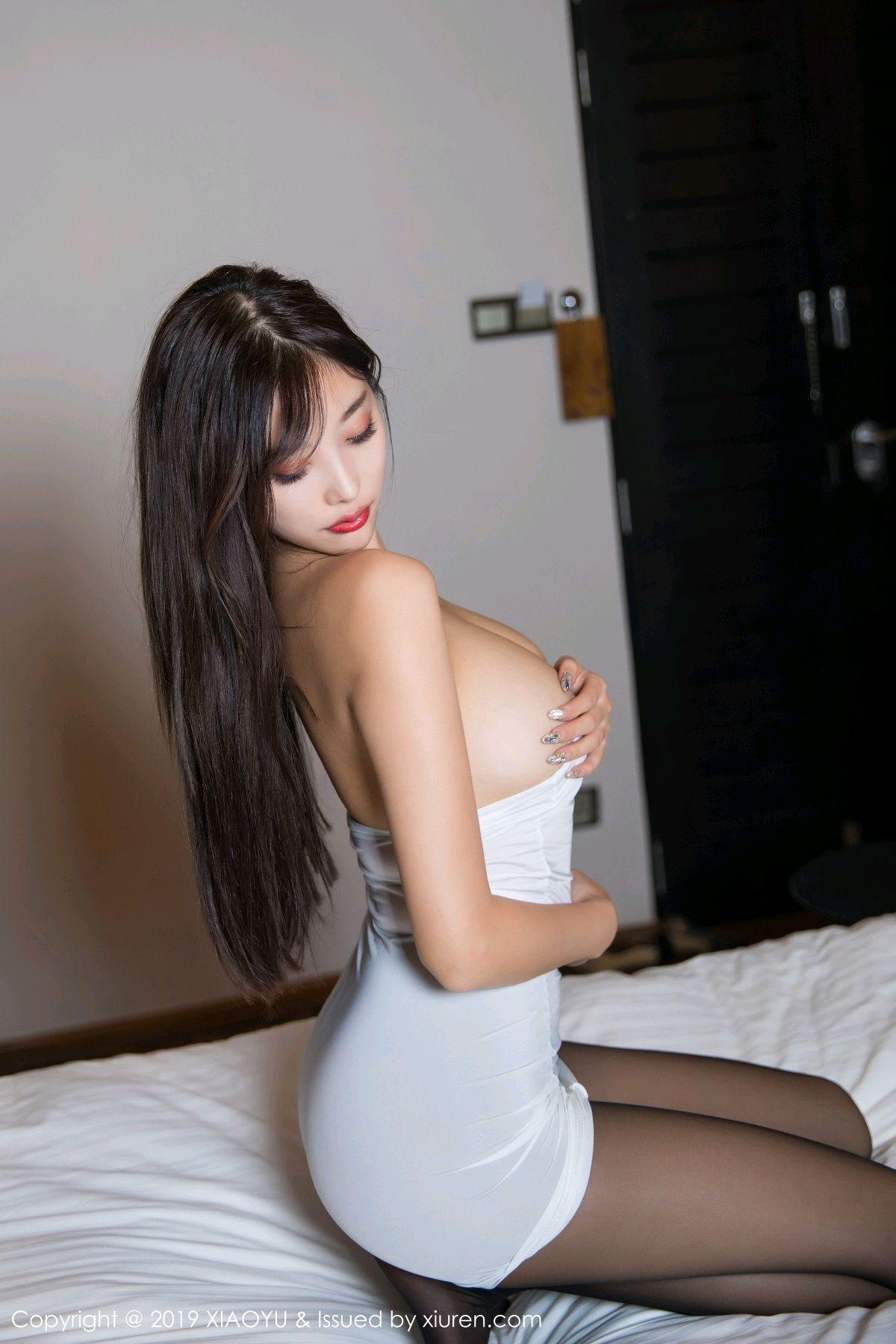 [XiaoYu] Vol.138 Yang Chen Chen 67P, Black Silk, Tall, XiaoYu, Yang Chen Chen
