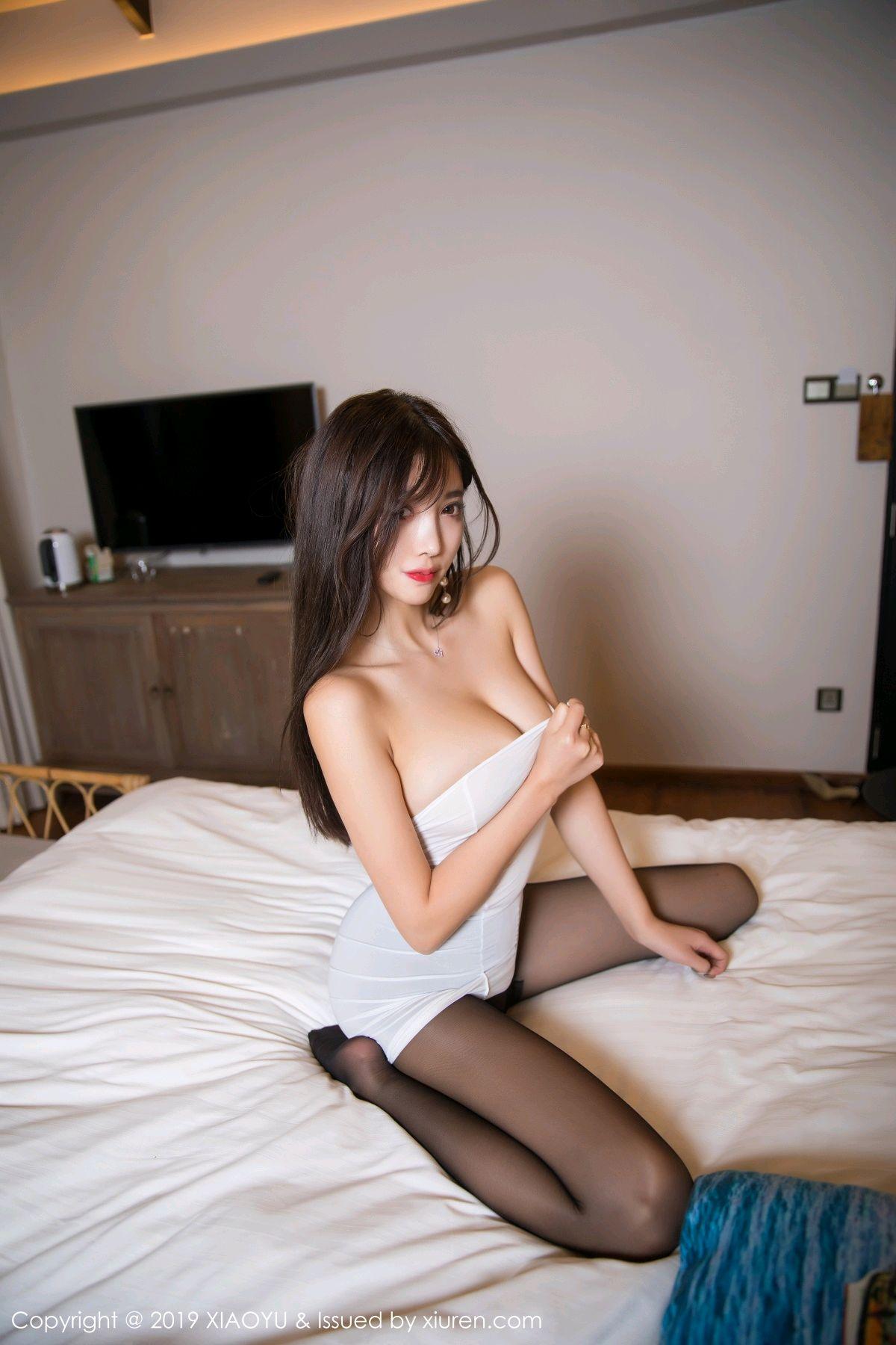 [XiaoYu] Vol.138 Yang Chen Chen 73P, Black Silk, Tall, XiaoYu, Yang Chen Chen