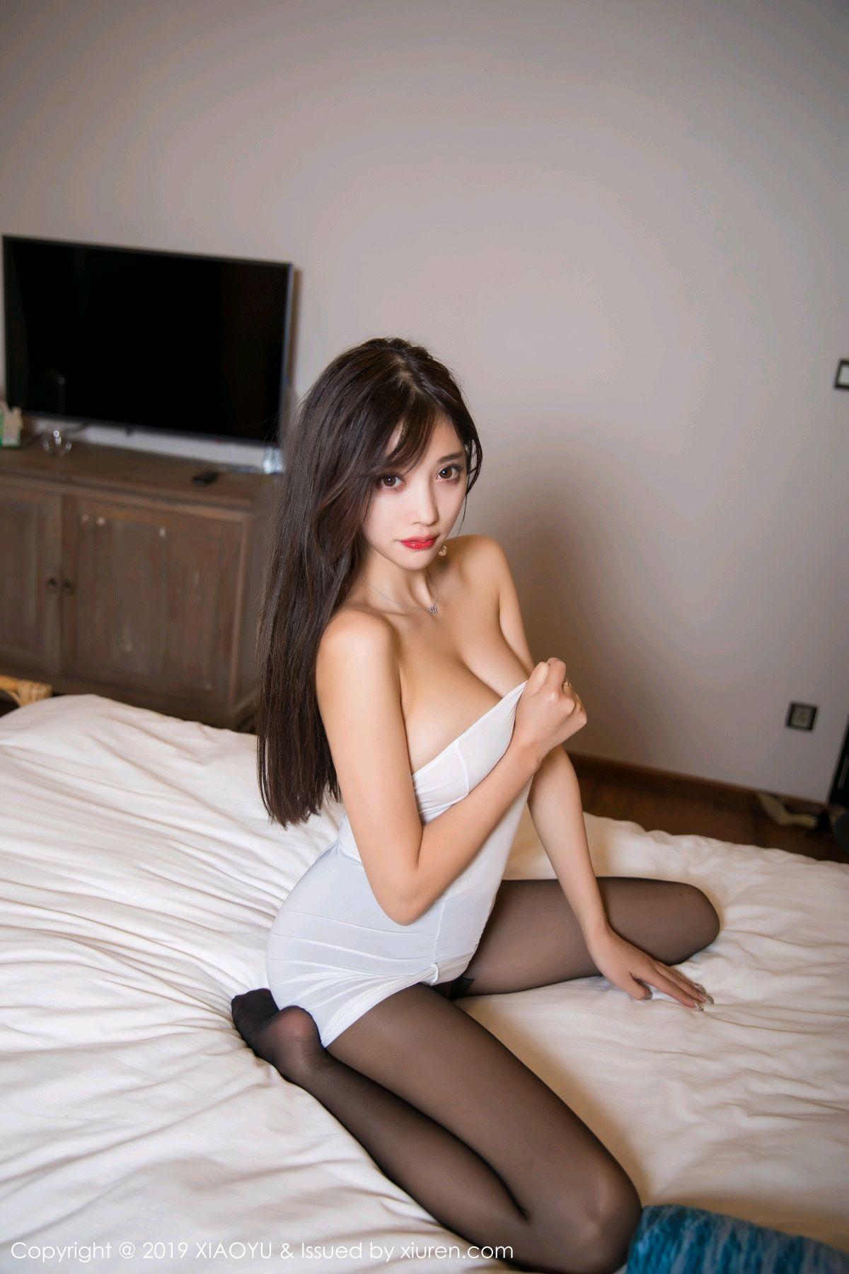 [XiaoYu] Vol.138 Yang Chen Chen 74P, Black Silk, Tall, XiaoYu, Yang Chen Chen
