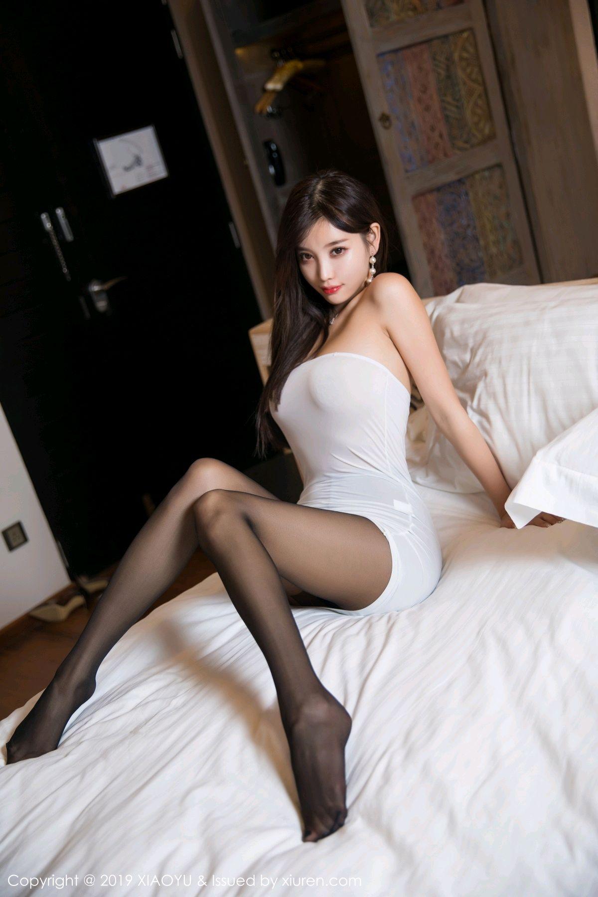 [XiaoYu] Vol.138 Yang Chen Chen 77P, Black Silk, Tall, XiaoYu, Yang Chen Chen