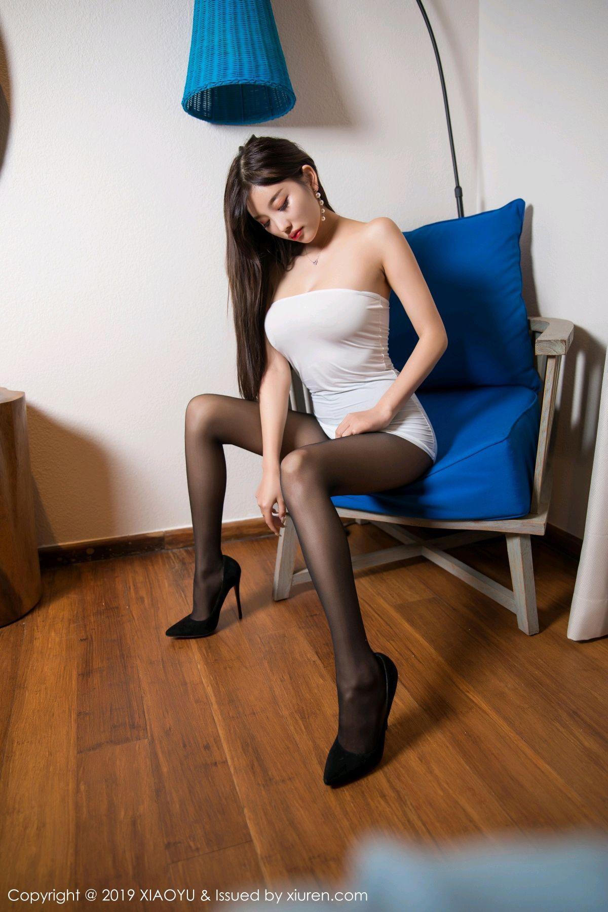 [XiaoYu] Vol.138 Yang Chen Chen 9P, Black Silk, Tall, XiaoYu, Yang Chen Chen