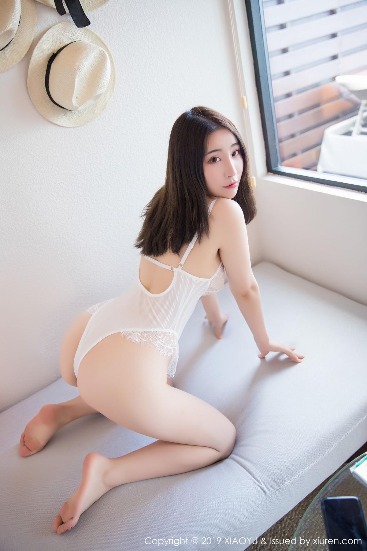 [XiaoYu] Vol.147 Xie Zhi Xin 3P, Bathroom, Big Booty, Wet, XiaoYu, Xie Zhi Xin