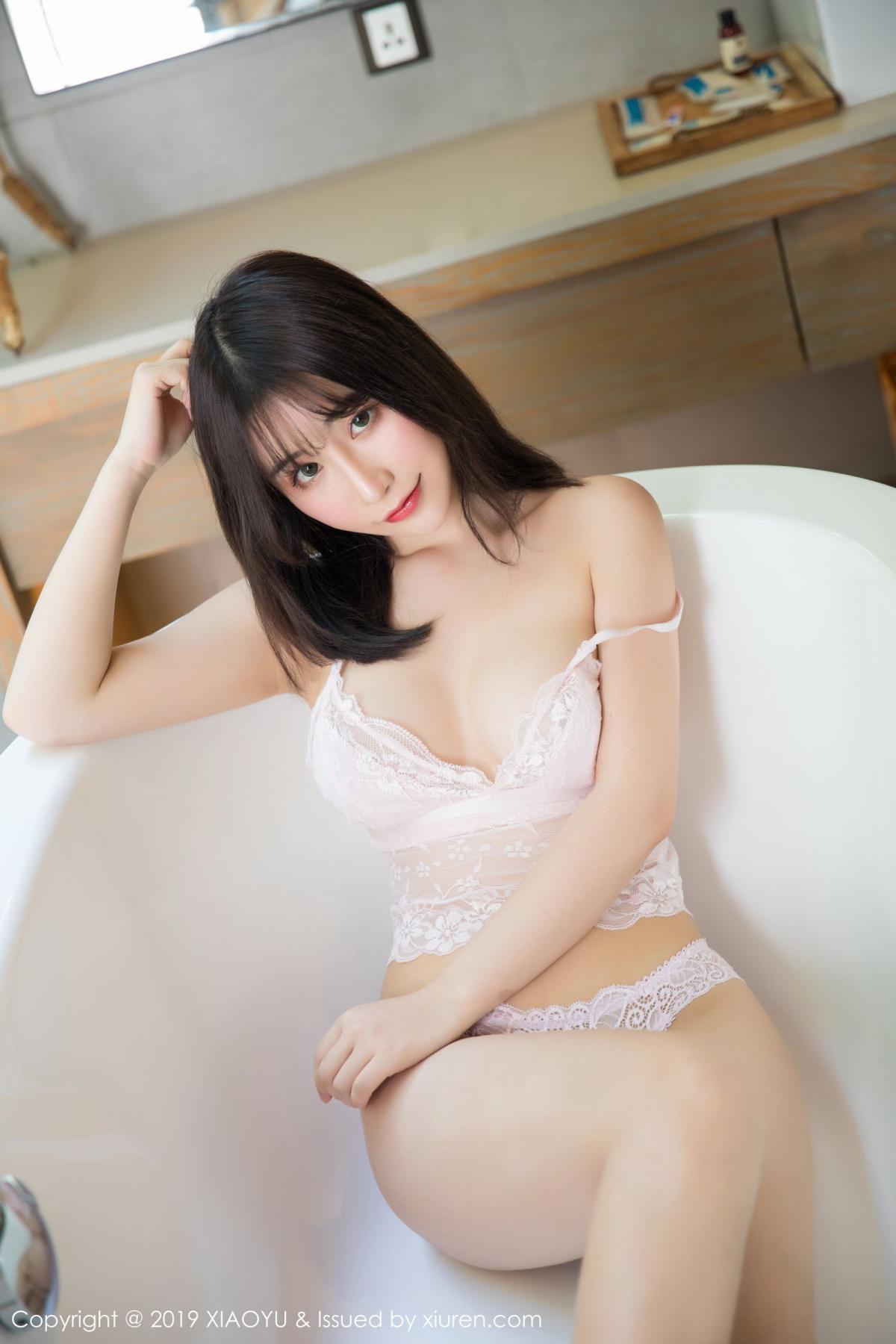 [XiaoYu] Vol.147 Xie Zhi Xin 41P, Bathroom, Big Booty, Wet, XiaoYu, Xie Zhi Xin