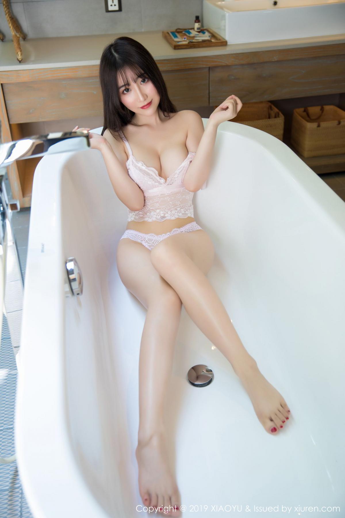 [XiaoYu] Vol.147 Xie Zhi Xin 42P, Bathroom, Big Booty, Wet, XiaoYu, Xie Zhi Xin